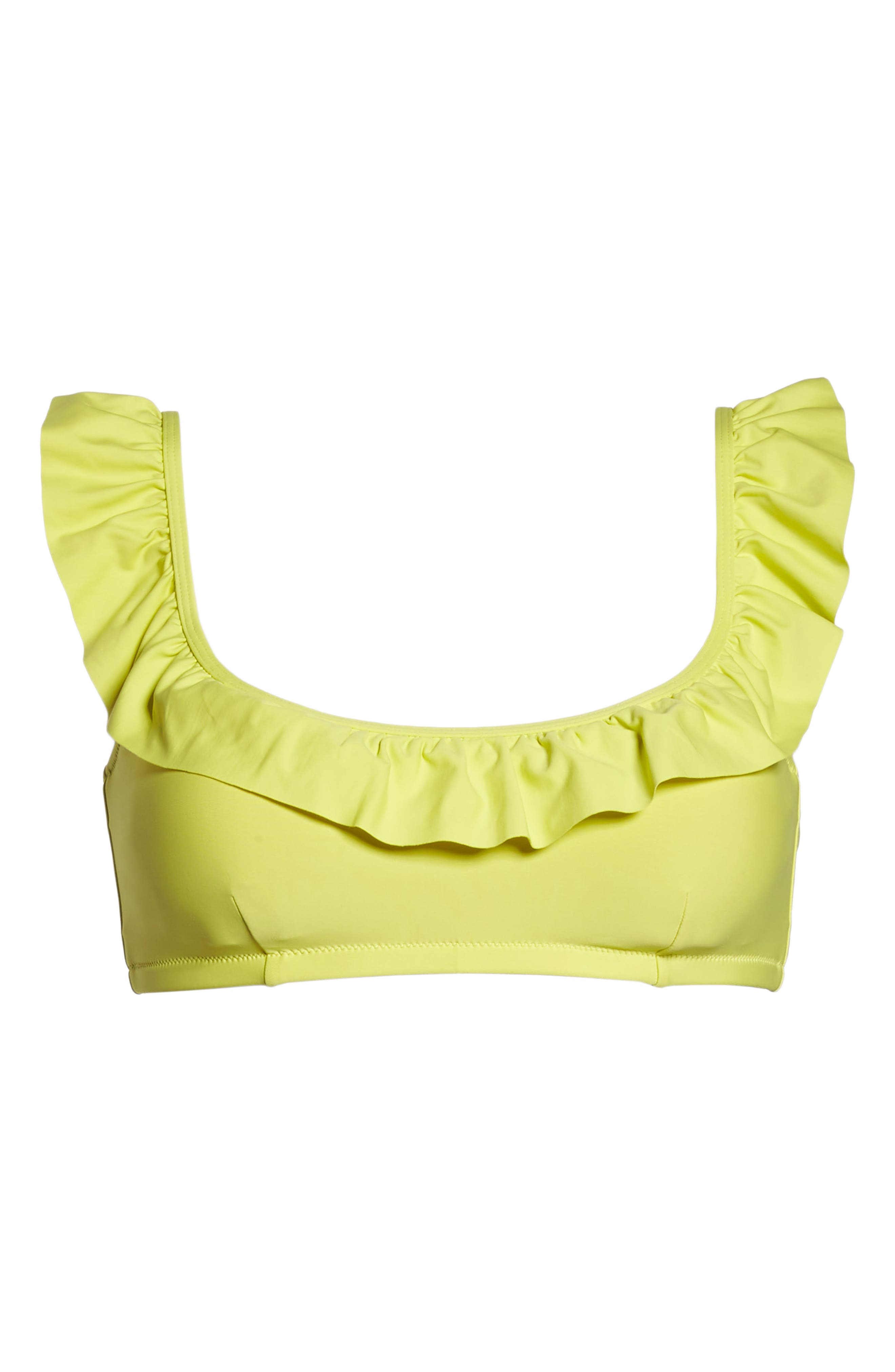 Ruffle Bikini Top,                             Alternate thumbnail 21, color,