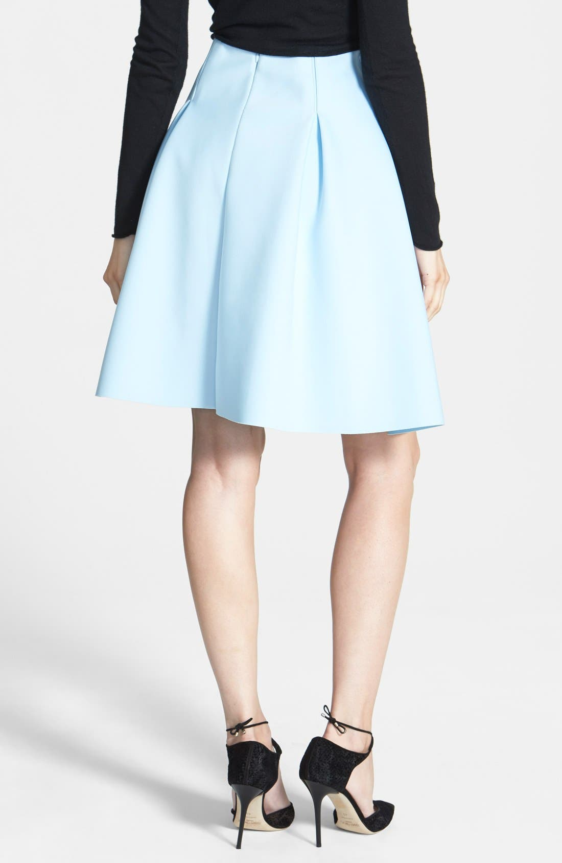 1.STATE,                             Pleated Jersey Skirt,                             Alternate thumbnail 3, color,                             400