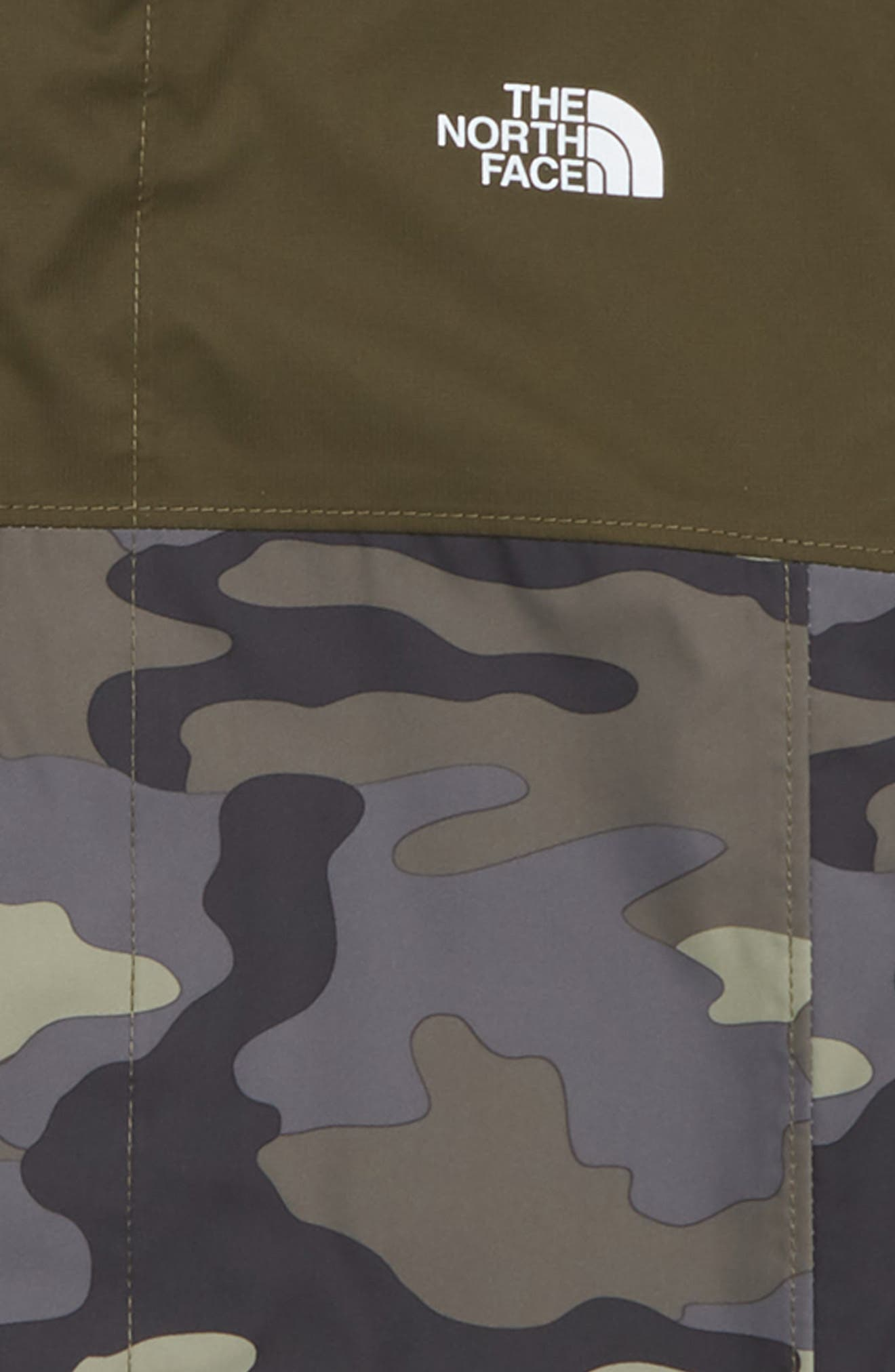 Resolve Waterproof Jacket,                             Alternate thumbnail 2, color,                             GREEN CAMOUFLAGE PRINT