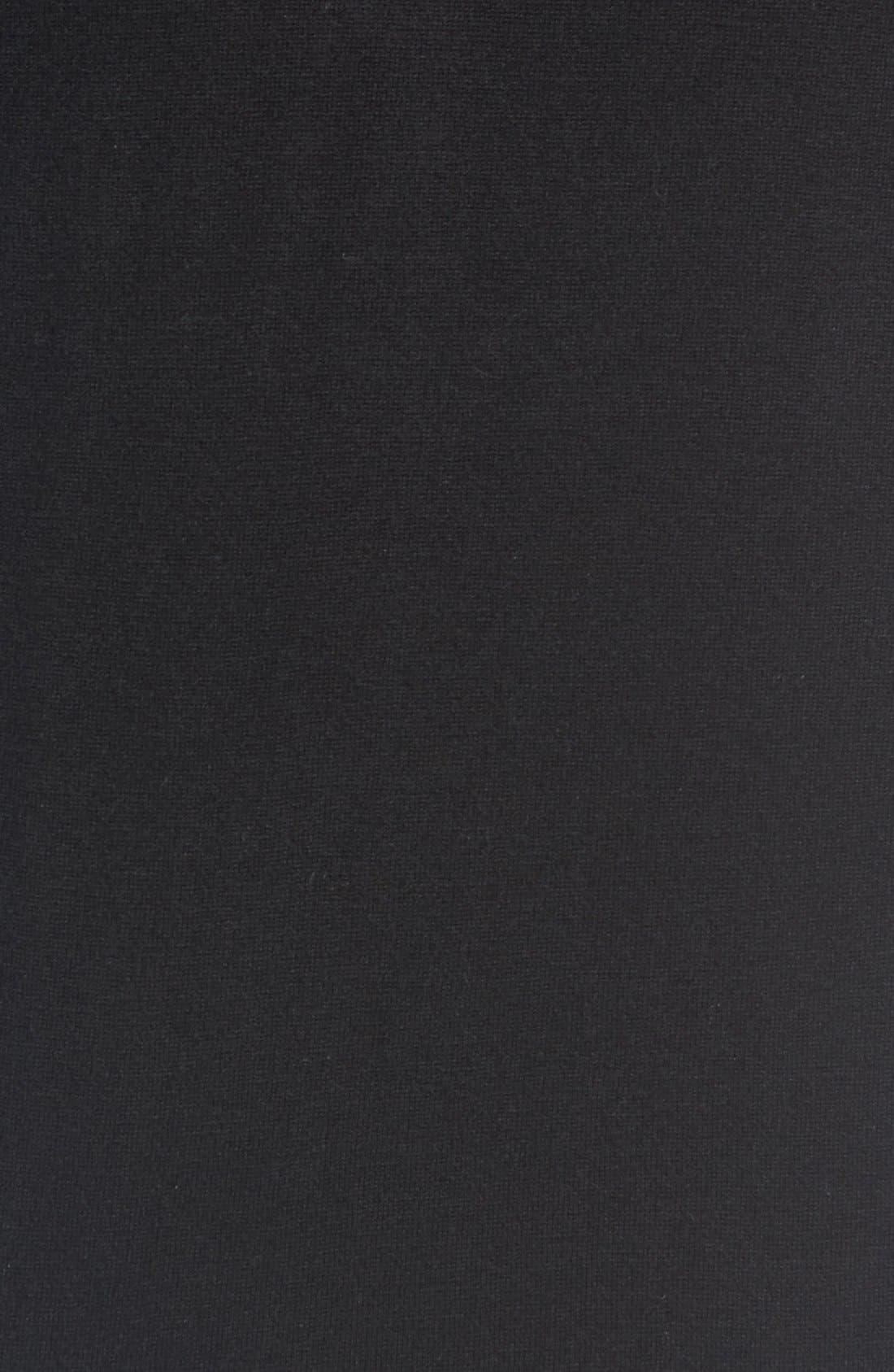 'Cashguy' Trim Fit V-Neck Sweater,                             Alternate thumbnail 5, color,                             001