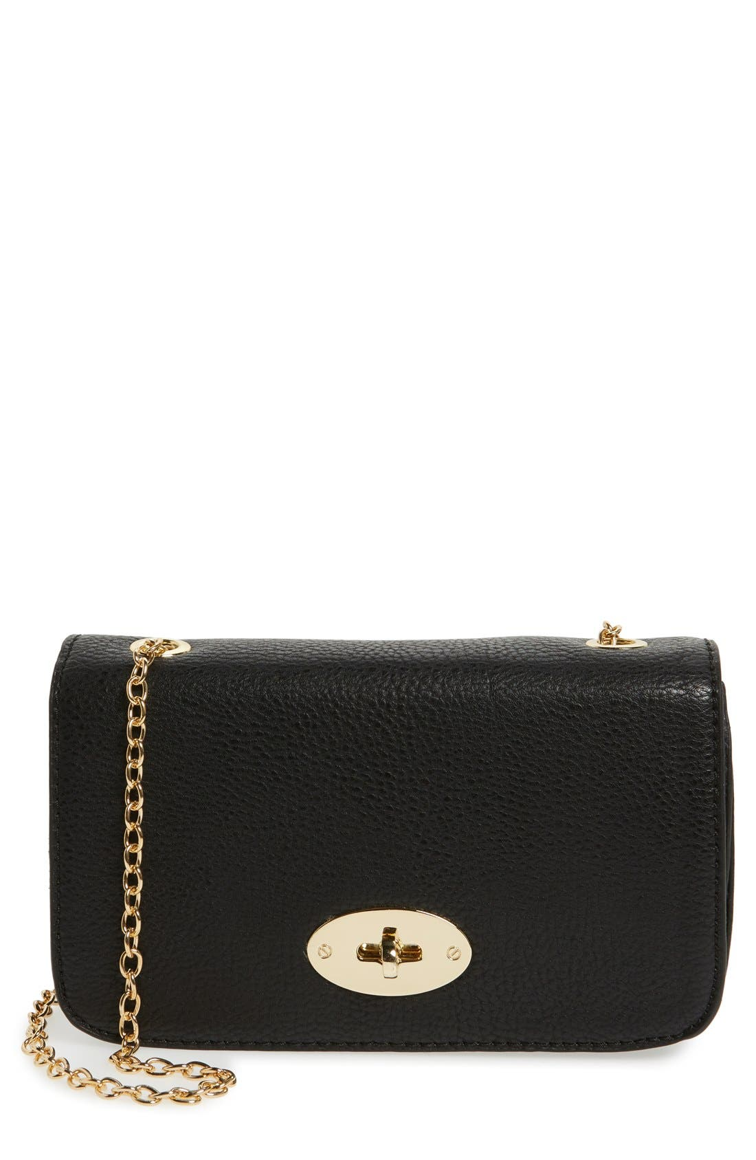 Faux Leather Crossbody Bag,                         Main,                         color,