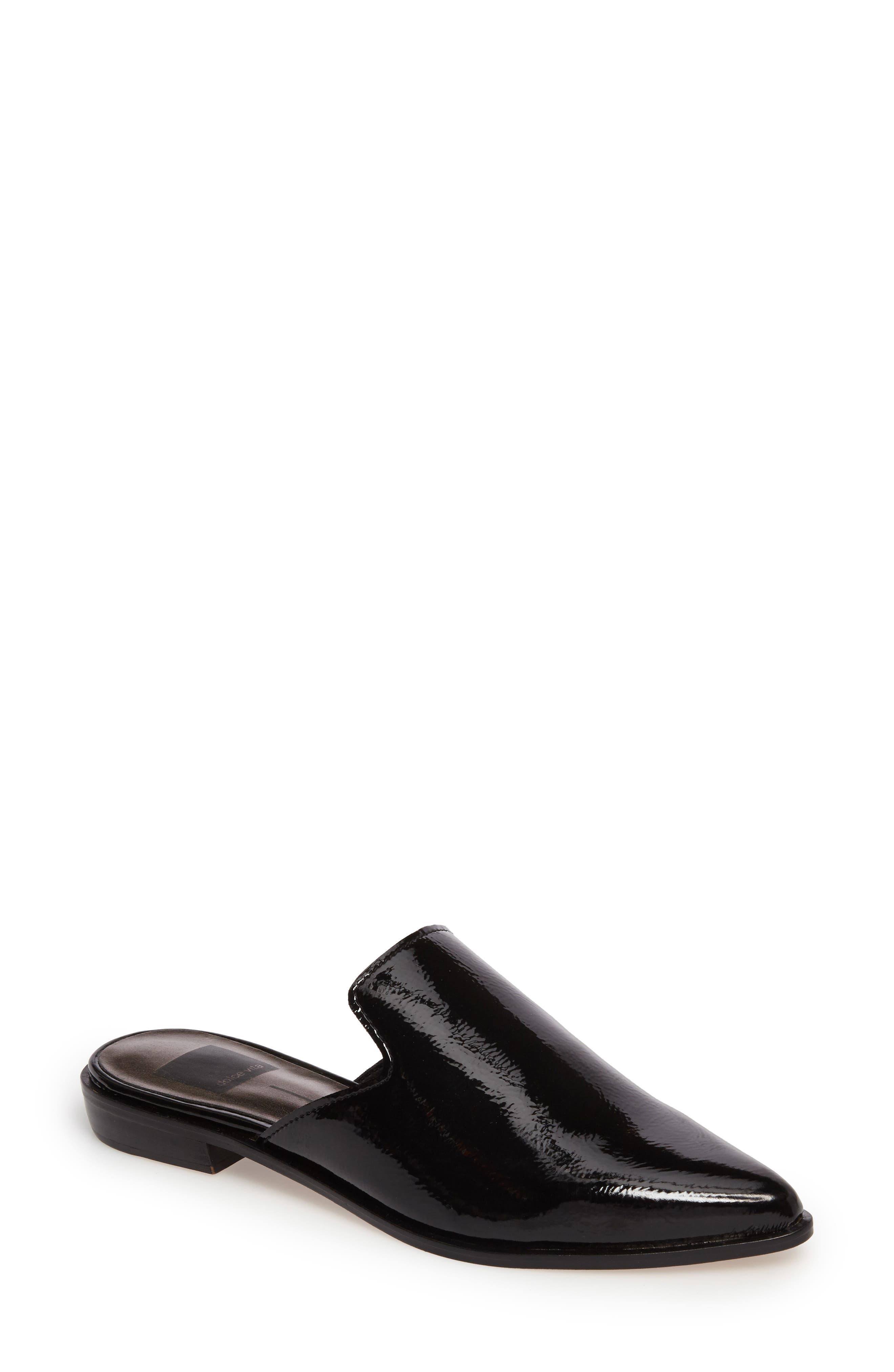 Holli Loafer Mule,                         Main,                         color, 001