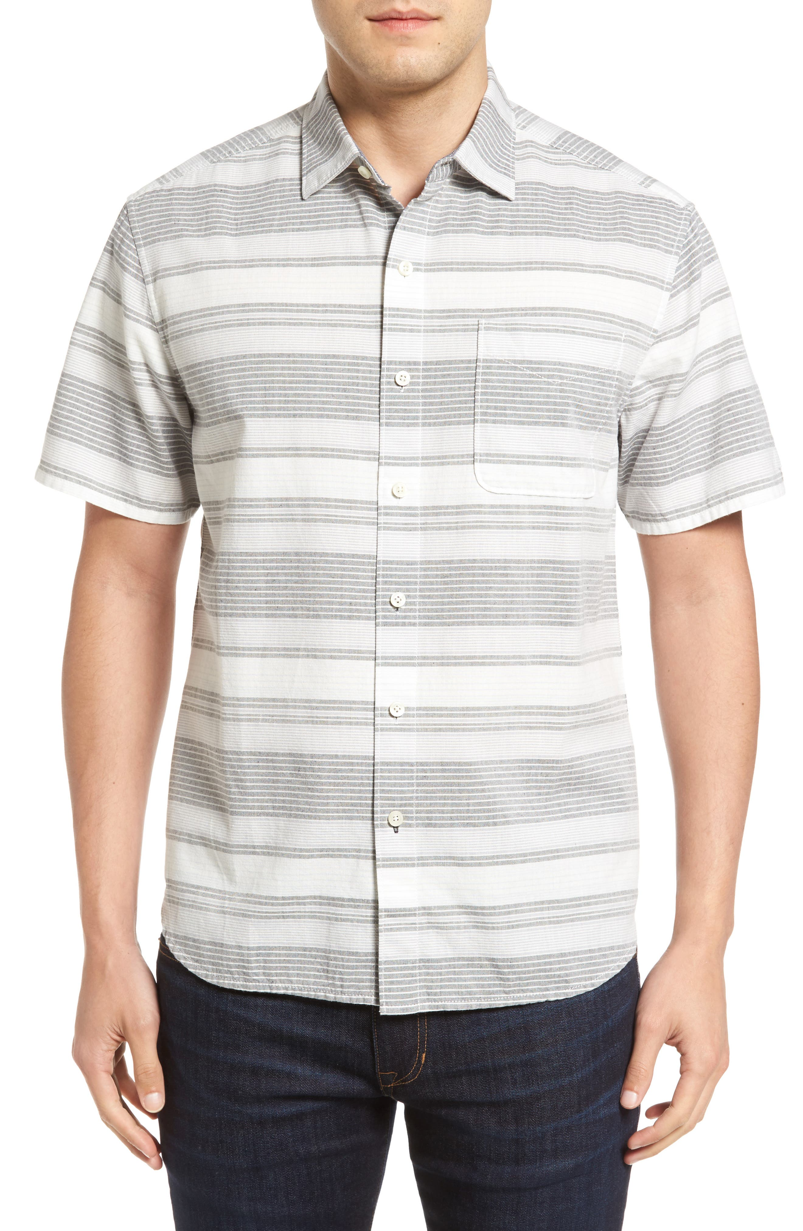 Clambake Stripe Standard Fit Sport Shirt,                         Main,                         color,