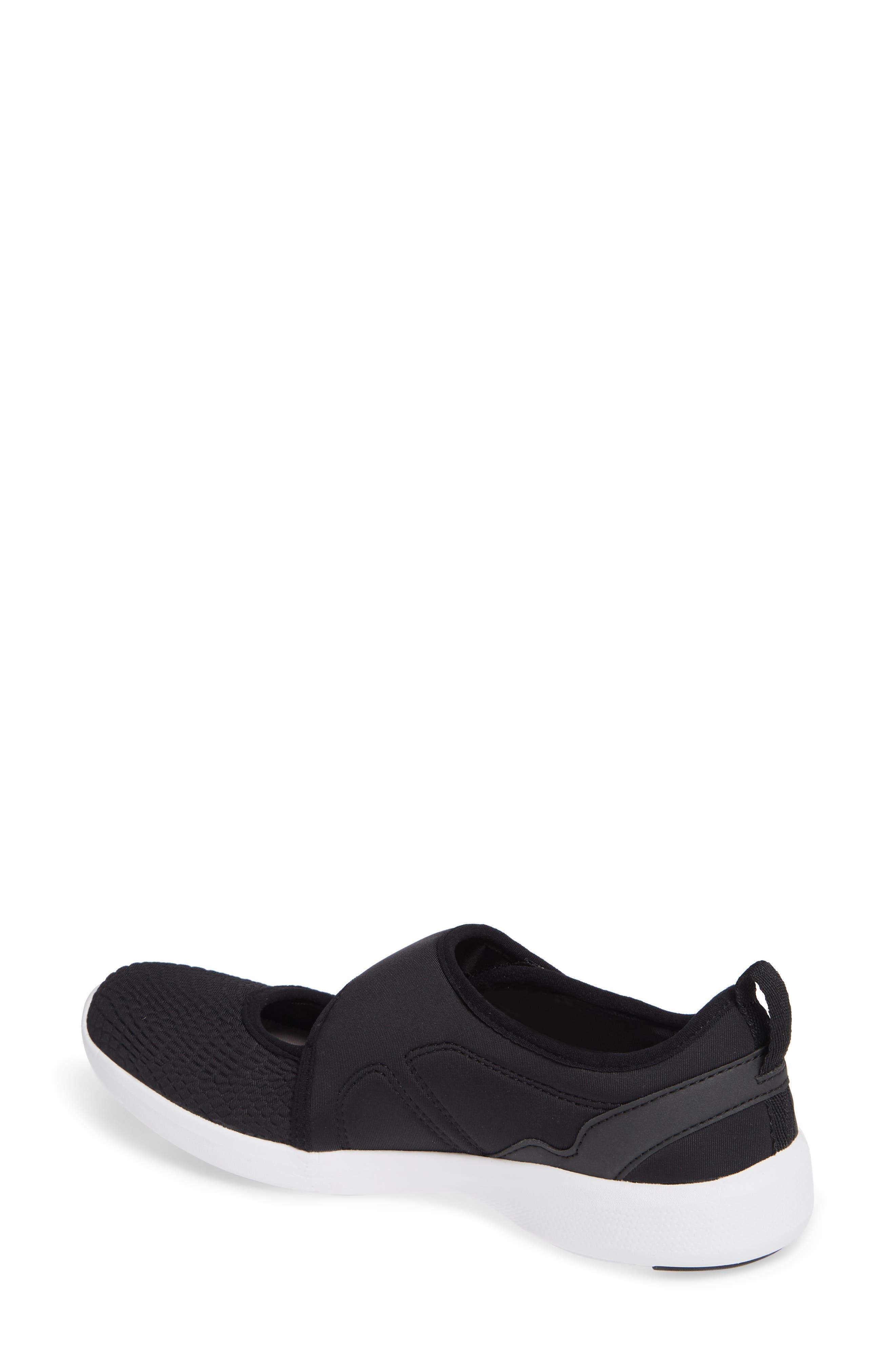 Sonnet Sneaker,                             Alternate thumbnail 2, color,                             BLACK FABRIC