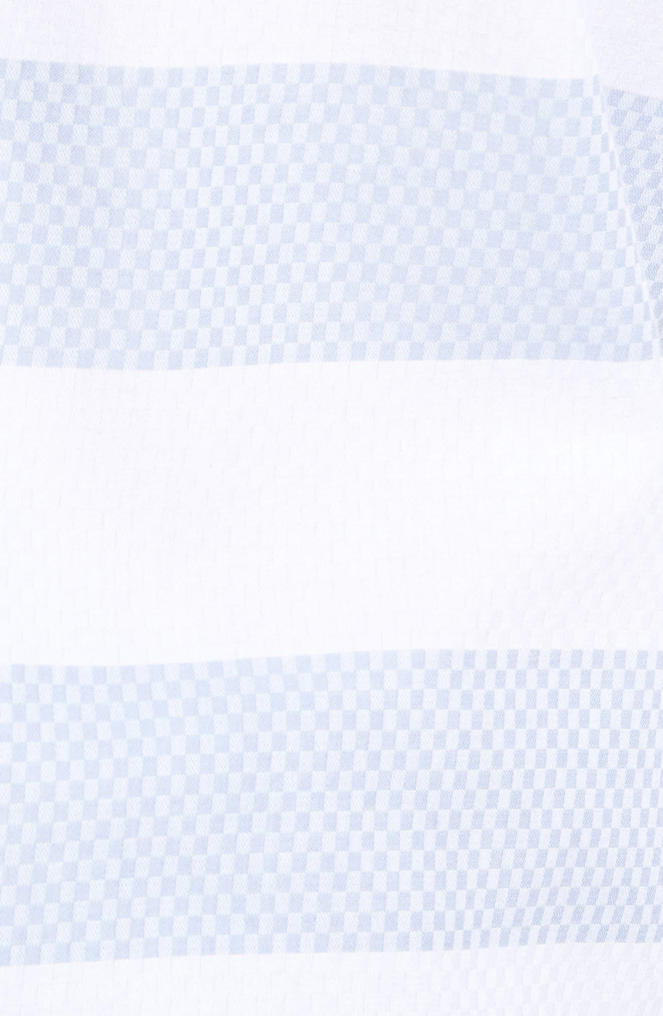 Dobby Gingham Stripes Shirt,                             Alternate thumbnail 5, color,