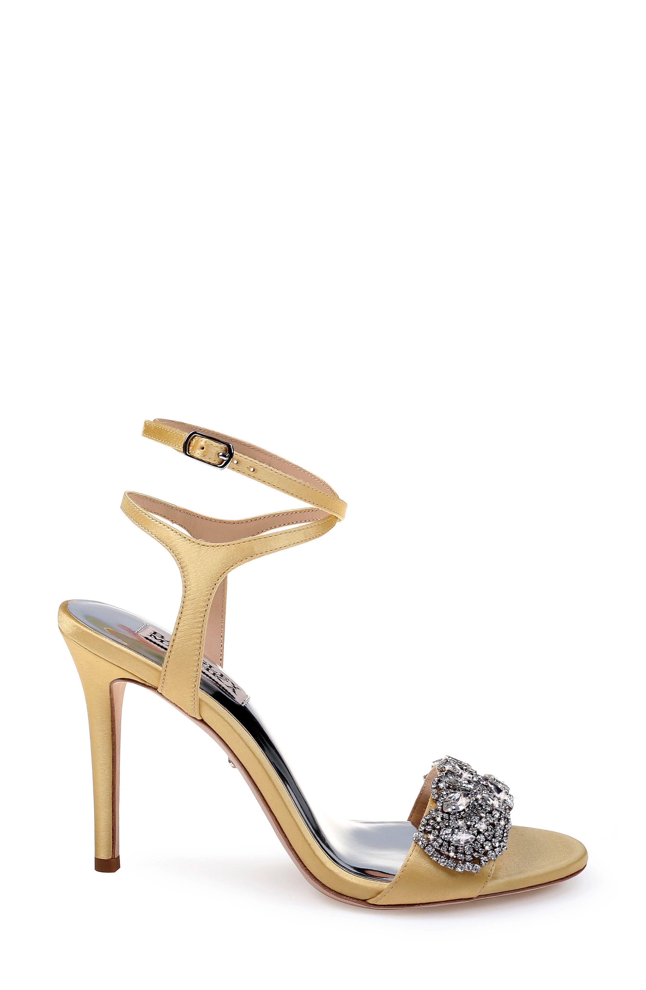 Hailey Embellished Ankle Strap Sandal,                             Alternate thumbnail 18, color,