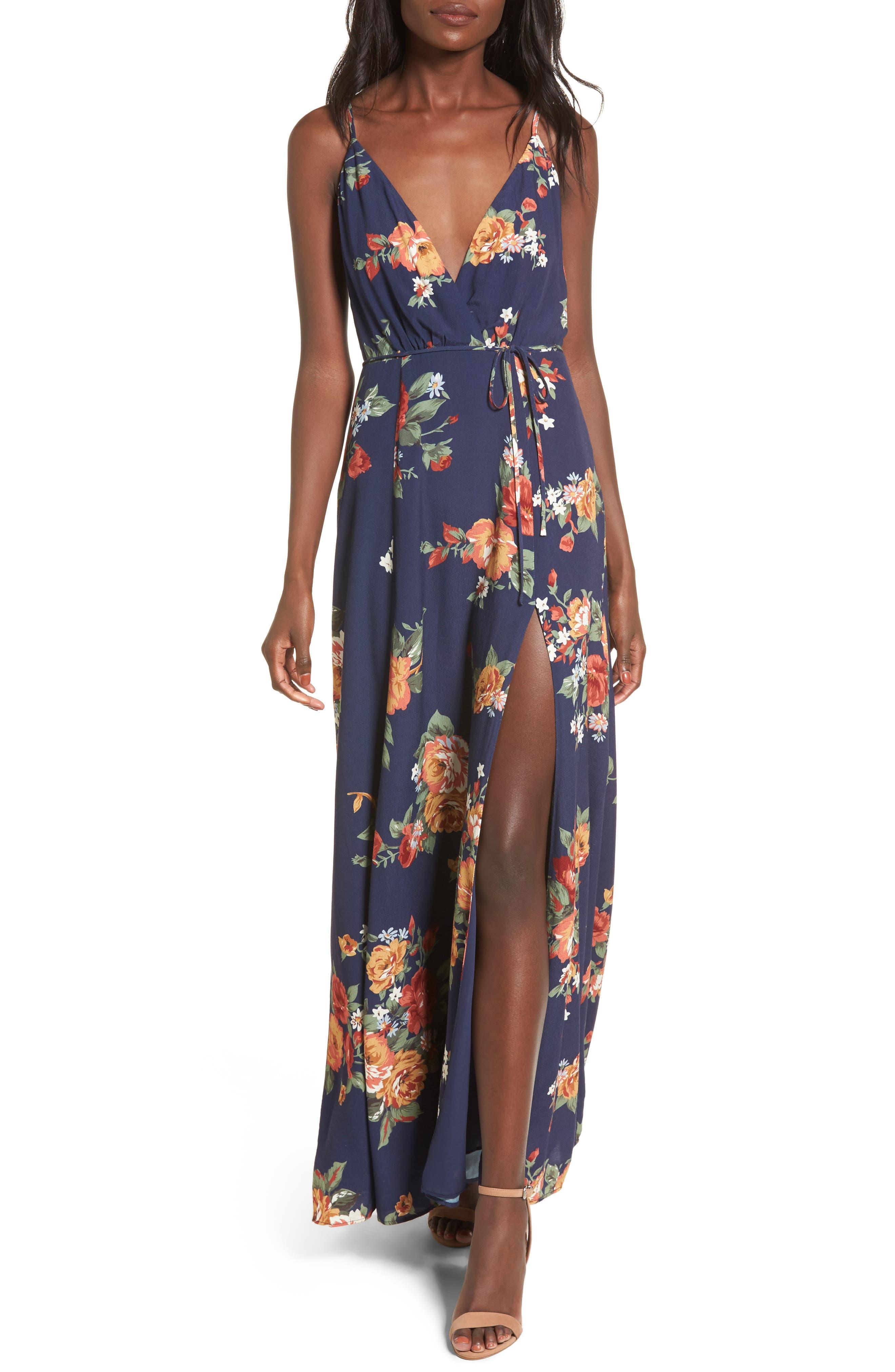 Crenshaw Maxi Dress,                         Main,                         color, 400
