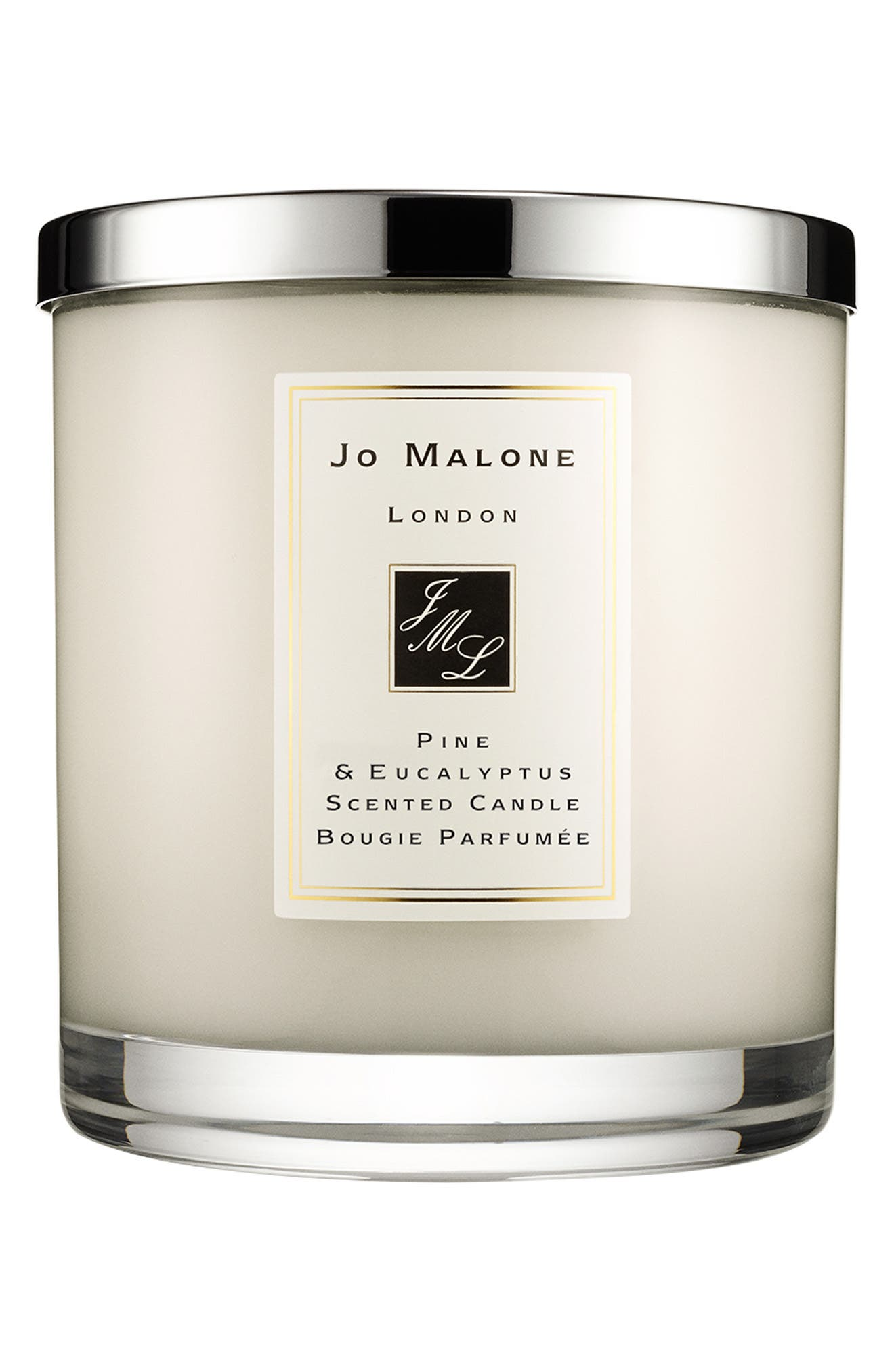 Jo Malone<sup>™</sup> 'Pine & Eucalyptus' Scented Home Candle,                             Alternate thumbnail 2, color,                             000