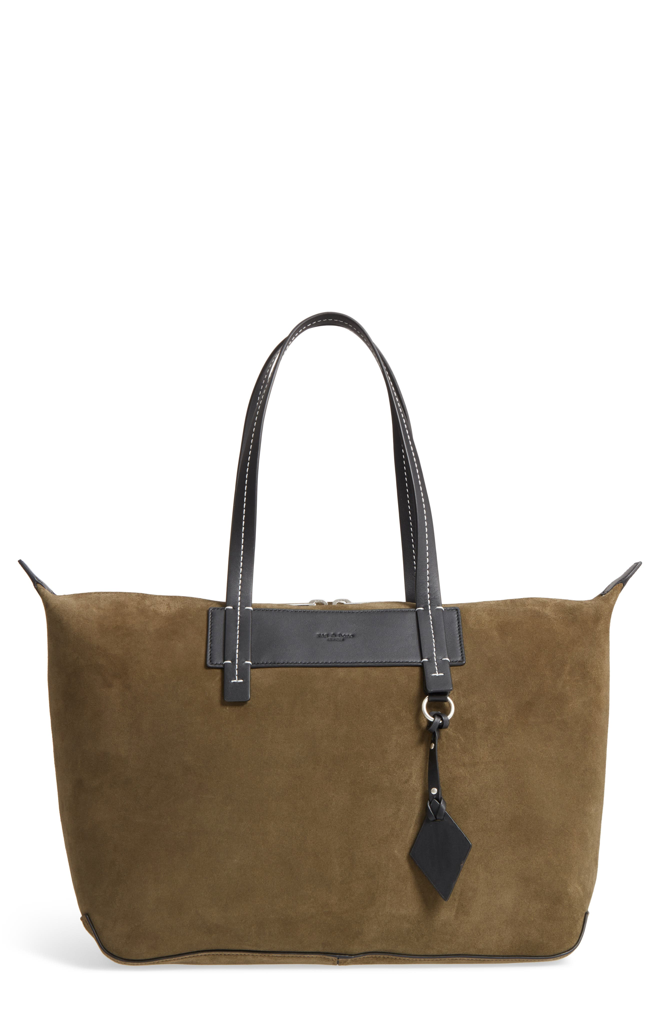 Compass Everyday Suede Tote,                             Main thumbnail 1, color,