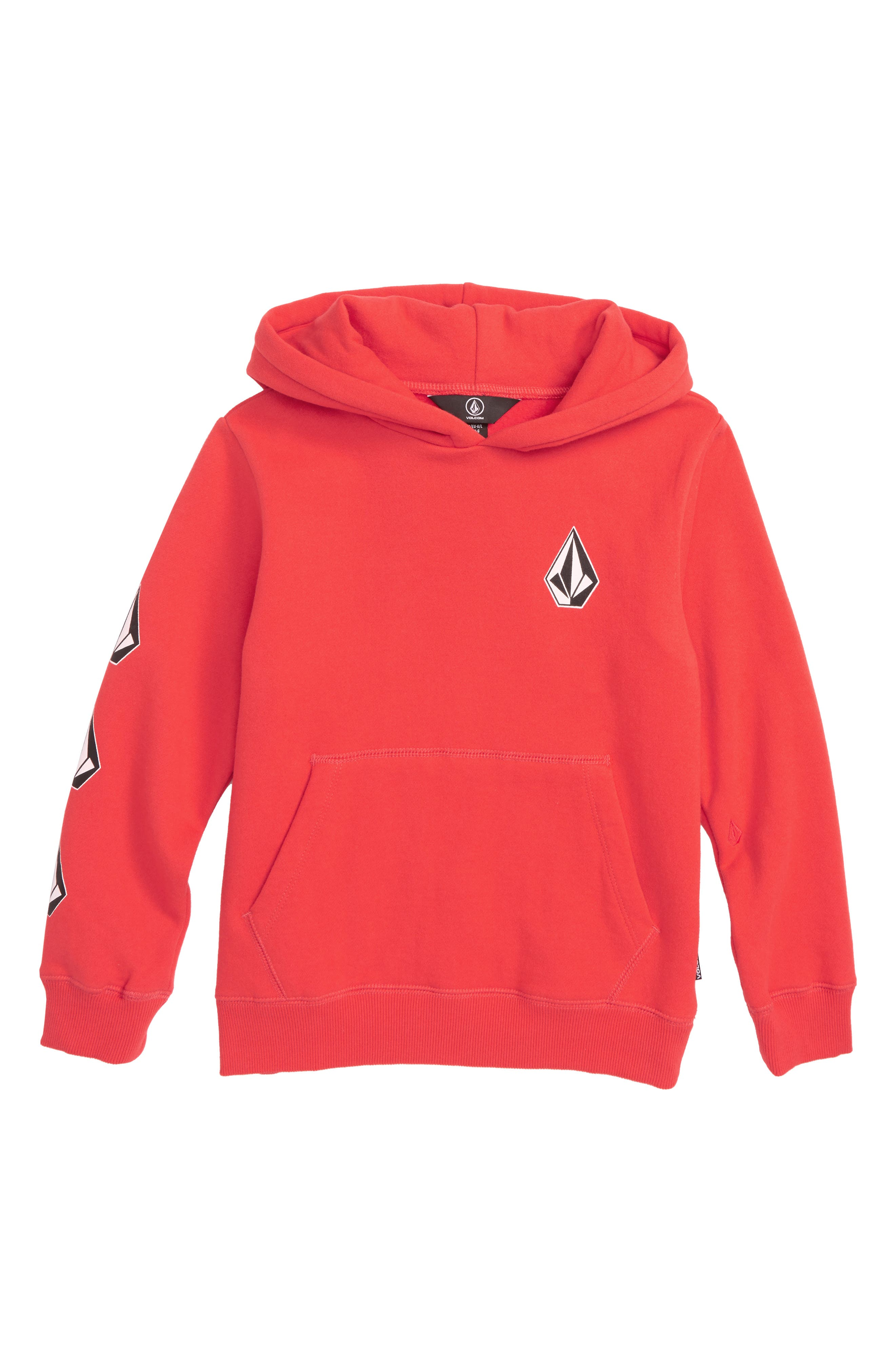 Deadly Stones Hoodie,                             Main thumbnail 1, color,                             SPARK RED