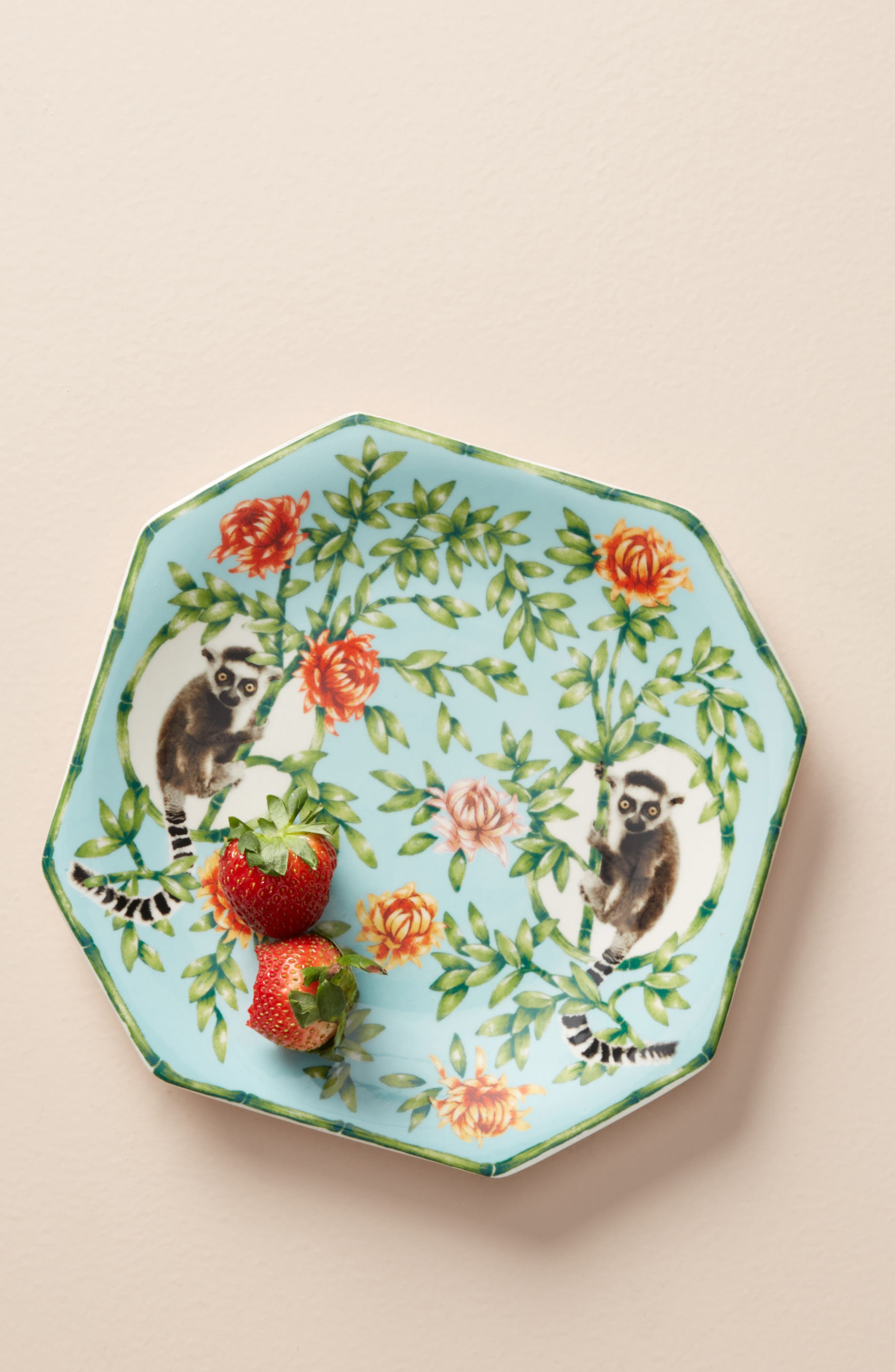 Nature Table Dessert Plate,                             Alternate thumbnail 2, color,                             MINT