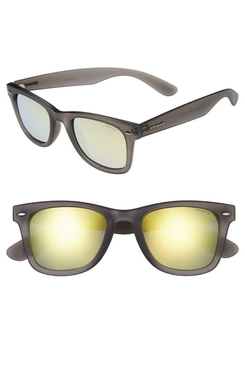 fd75240f46 Polaroid Eyewear 50mm Retro Polarized Sunglasses