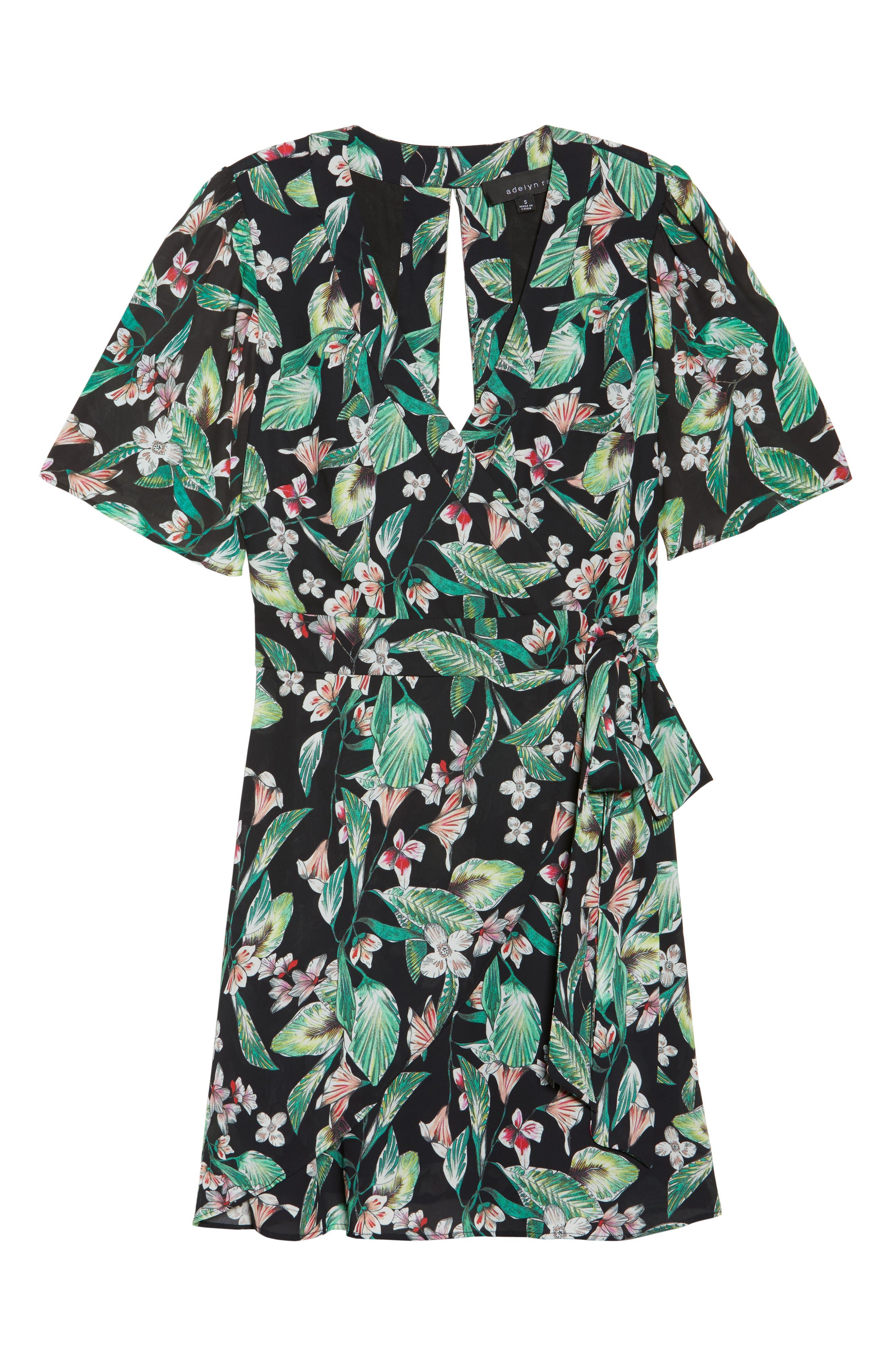 Kimi Wrap Dress,                             Alternate thumbnail 7, color,