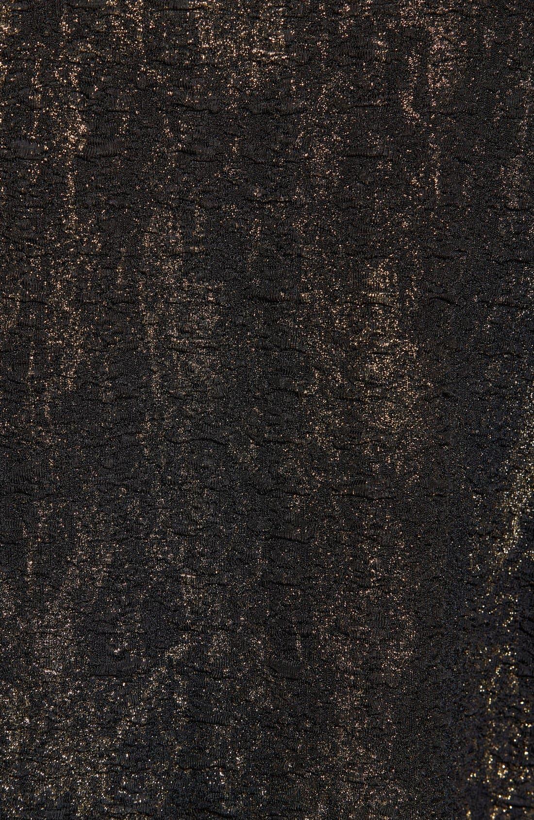 Shimmer Crop Top,                             Alternate thumbnail 5, color,                             001
