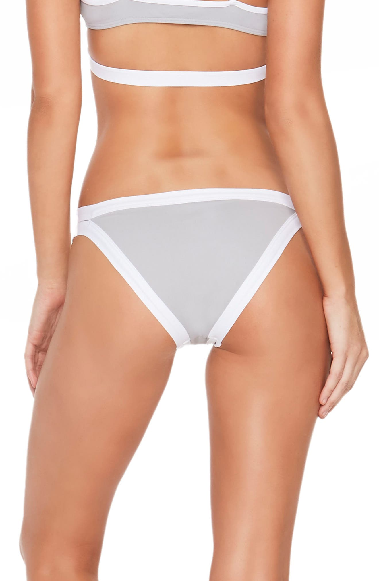 'Charlie' Colorblock Bikini Bottoms,                             Alternate thumbnail 3, color,