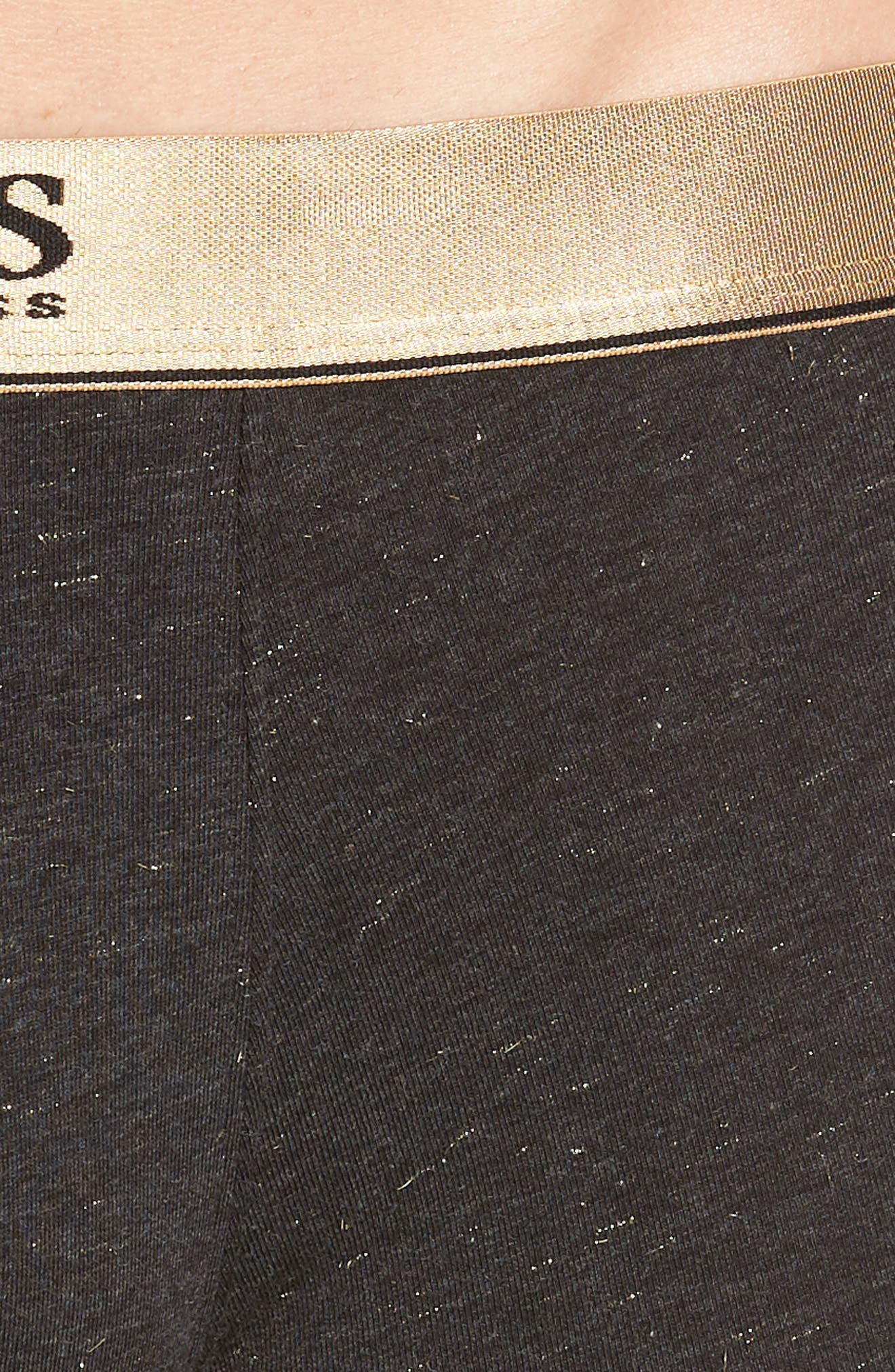 Sparkle Trunks,                             Alternate thumbnail 4, color,                             BLACK