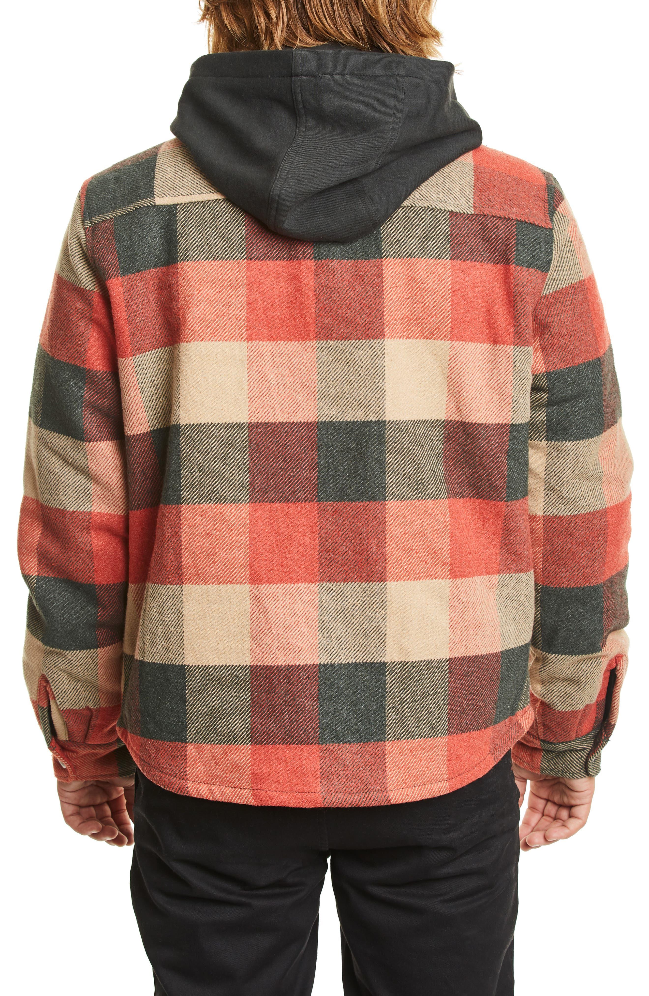 Bowery Jacket,                             Alternate thumbnail 2, color,                             BLACK/ RED