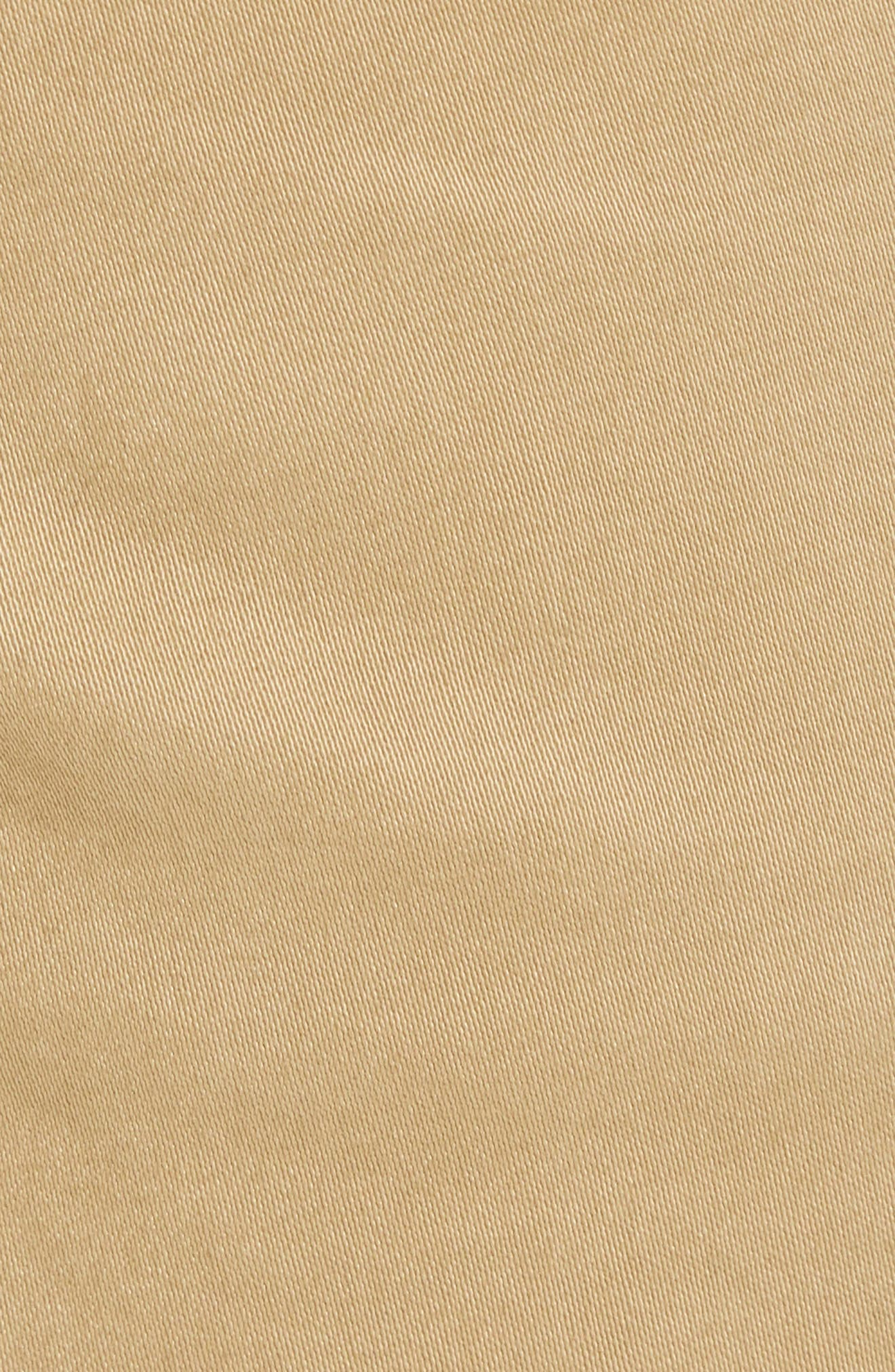 Stretch Chino Pants,                             Alternate thumbnail 5, color,                             BROWN
