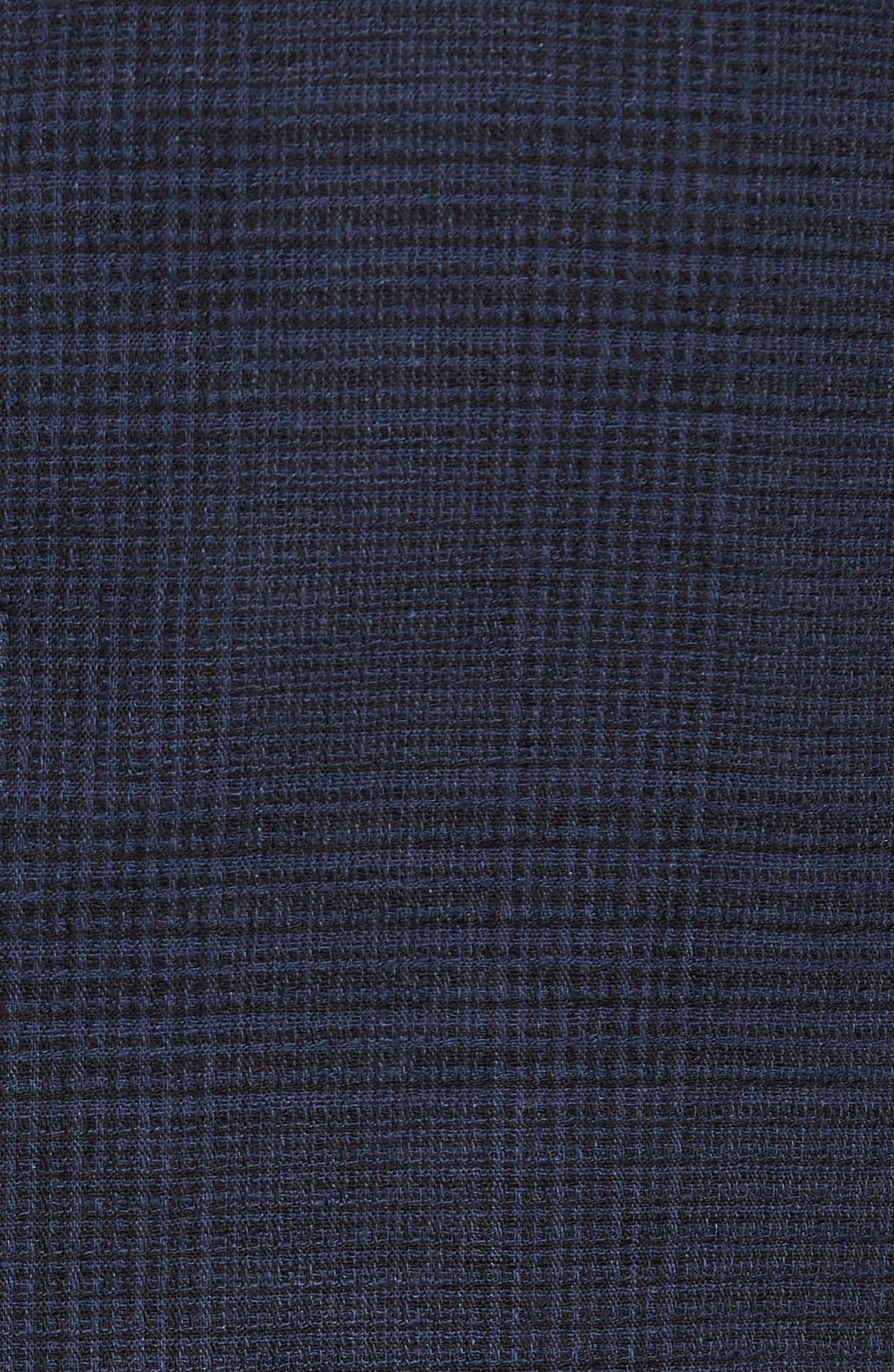 Delaria Plaid Wool Blend Jacket,                             Alternate thumbnail 10, color,