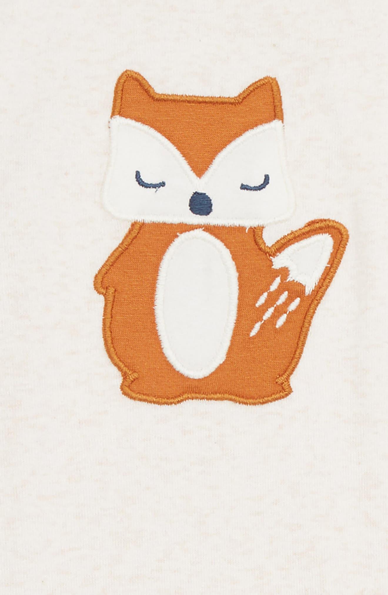 Fox Romper,                             Alternate thumbnail 2, color,                             900