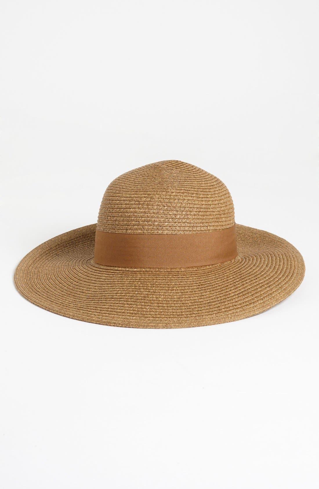Wide Brim Sun Hat,                             Main thumbnail 7, color,