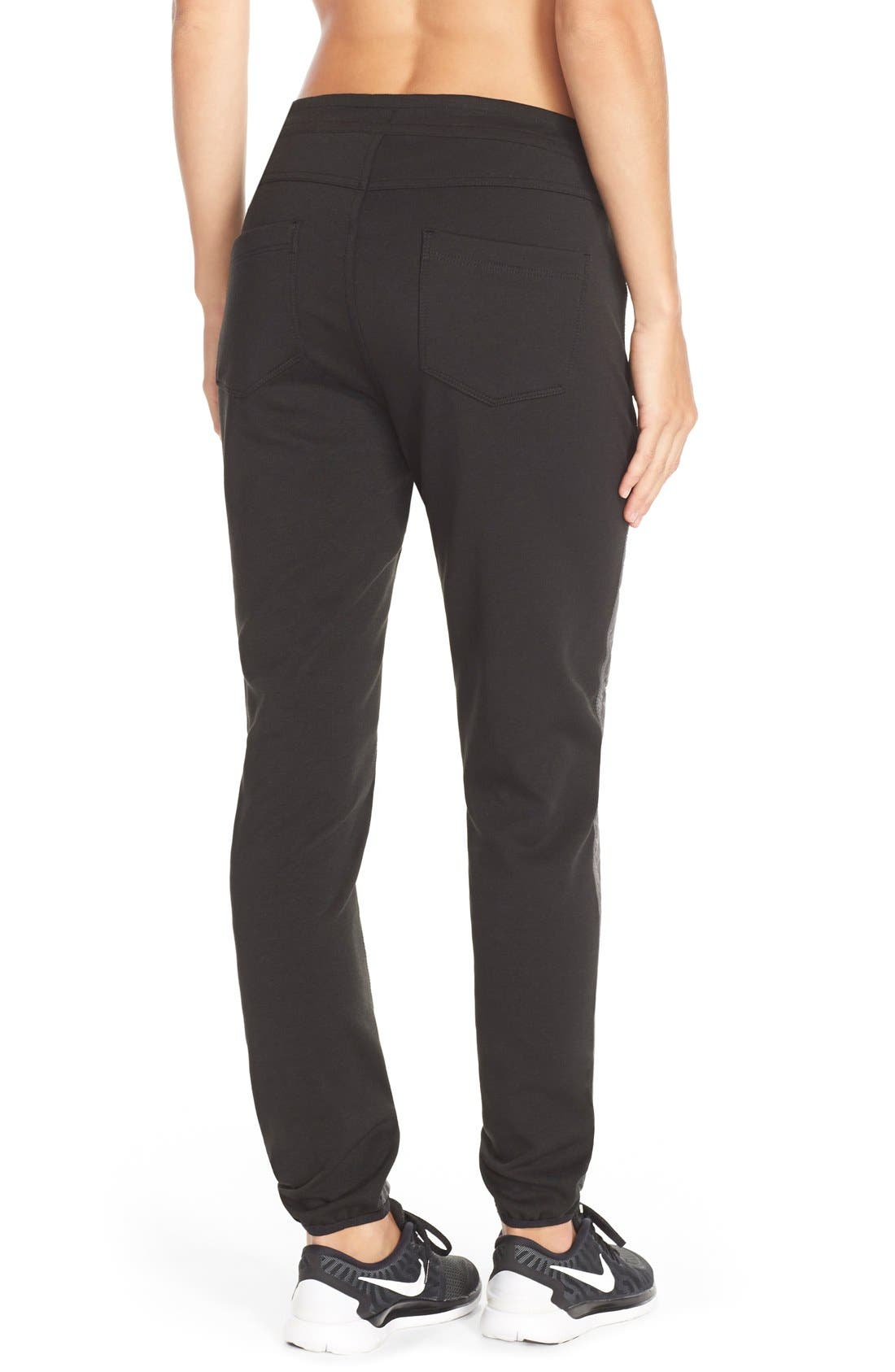 'Magic' Windproof Quilted Pants,                             Alternate thumbnail 5, color,                             020