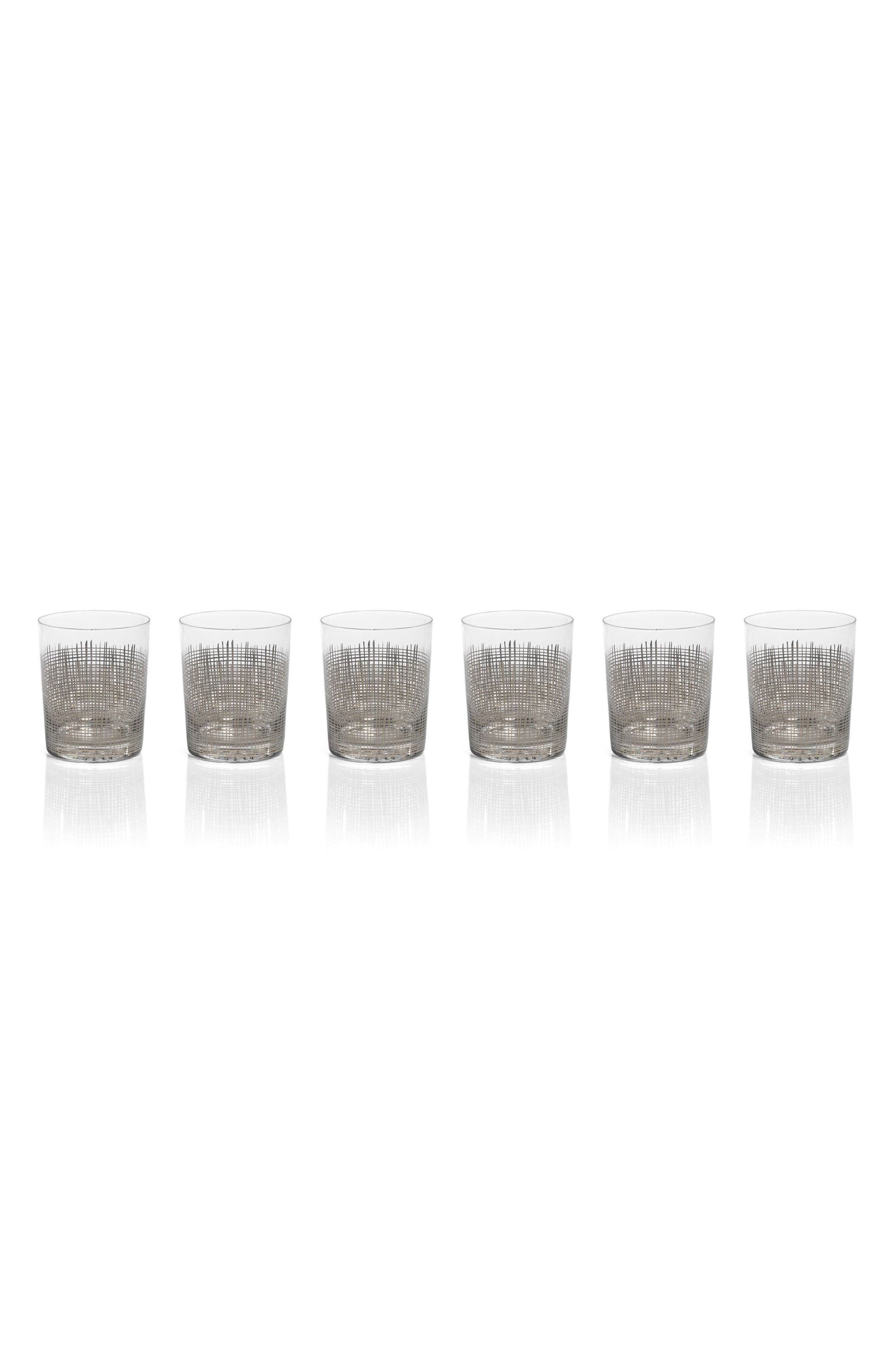 Reza Set of 6 Double Old Fashioned Glasses,                             Main thumbnail 1, color,                             040