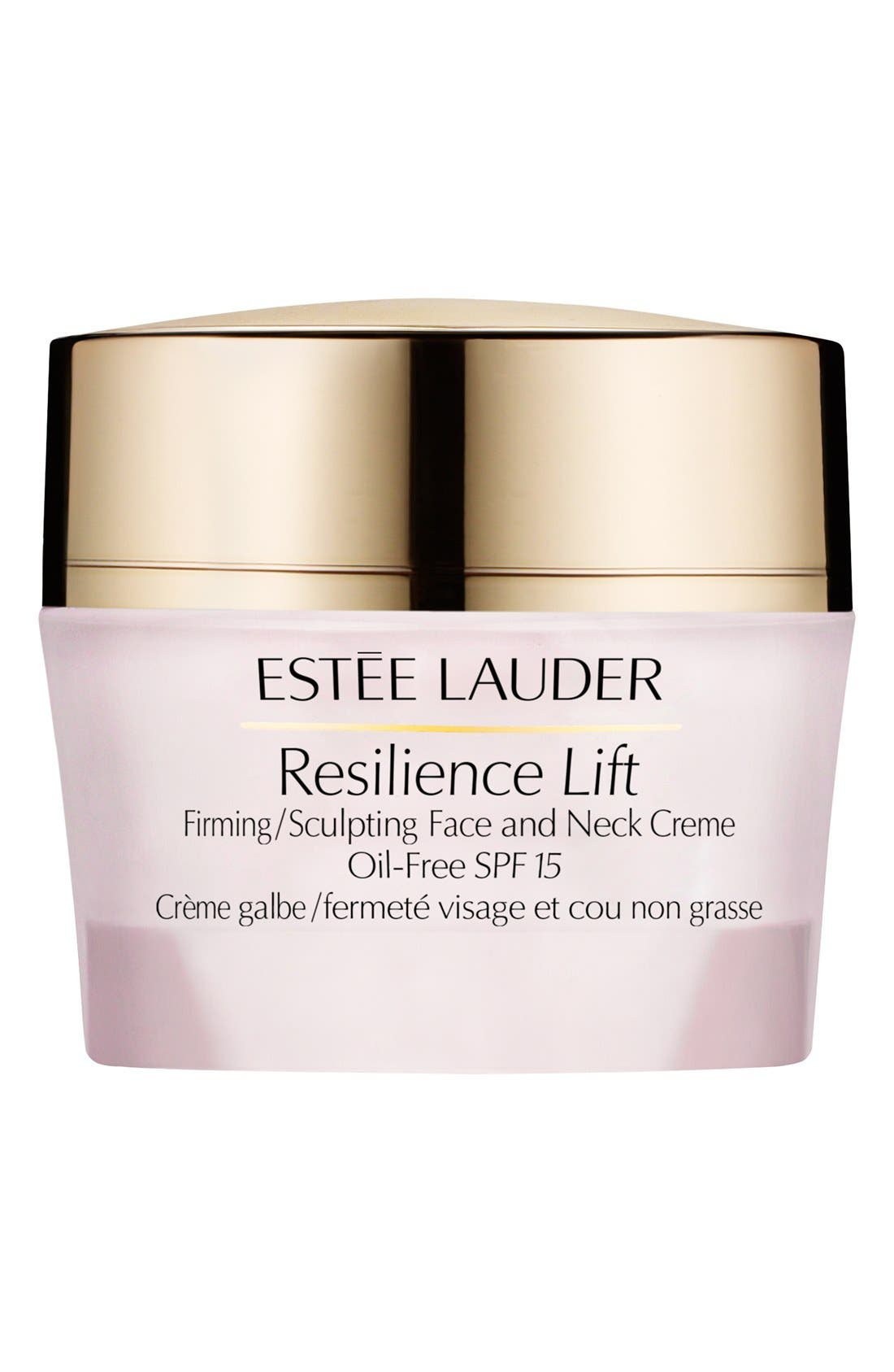 Resilience Lift Firming/Sculpting Face & Neck Creme Oil-Free SPF 15,                             Main thumbnail 1, color,                             000
