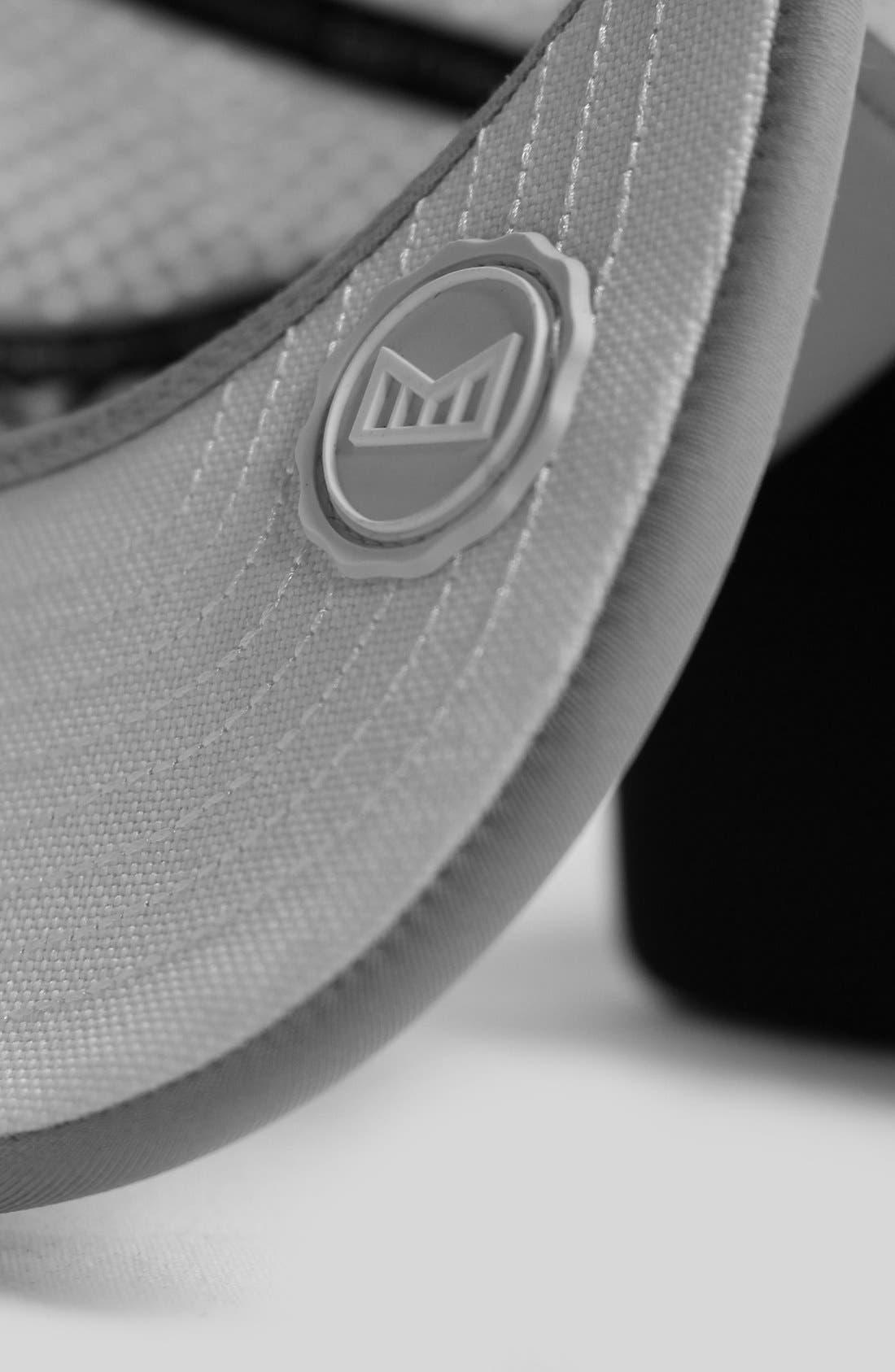 'Amphibian' Split Fit Snapback Baseball Cap,                             Alternate thumbnail 3, color,                             LIGHT GREY