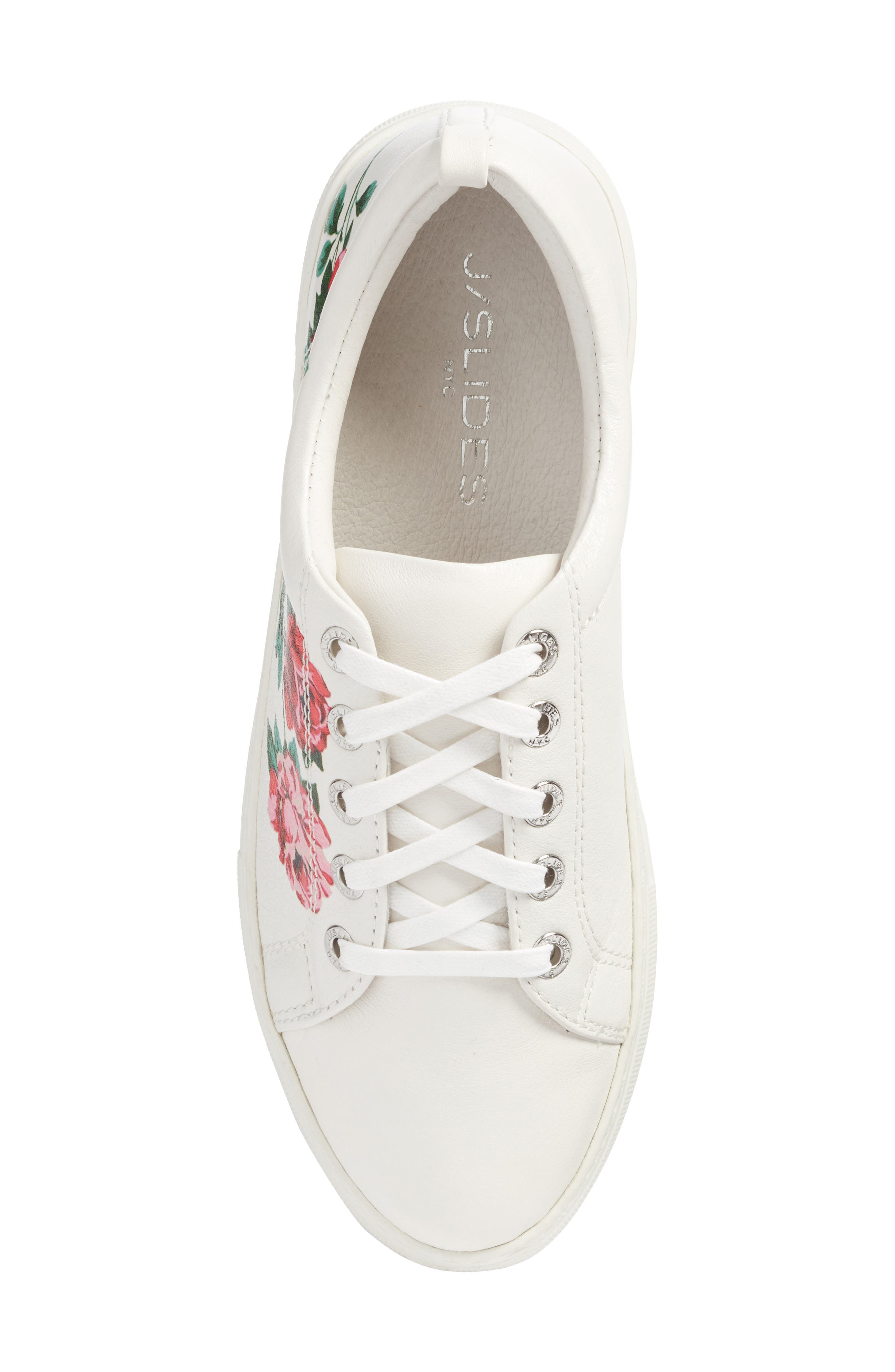 Adel Floral Sneaker,                             Alternate thumbnail 14, color,