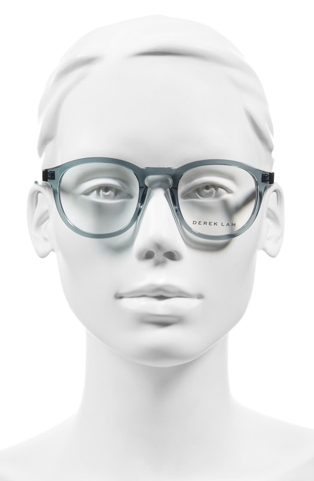 48mm Optical Glasses,                             Alternate thumbnail 2, color,                             GREEN SMOKE