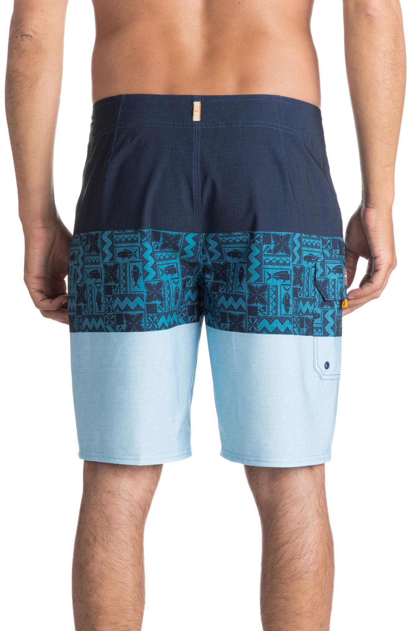 Fairway Triblock Board Shorts,                             Alternate thumbnail 2, color,                             401