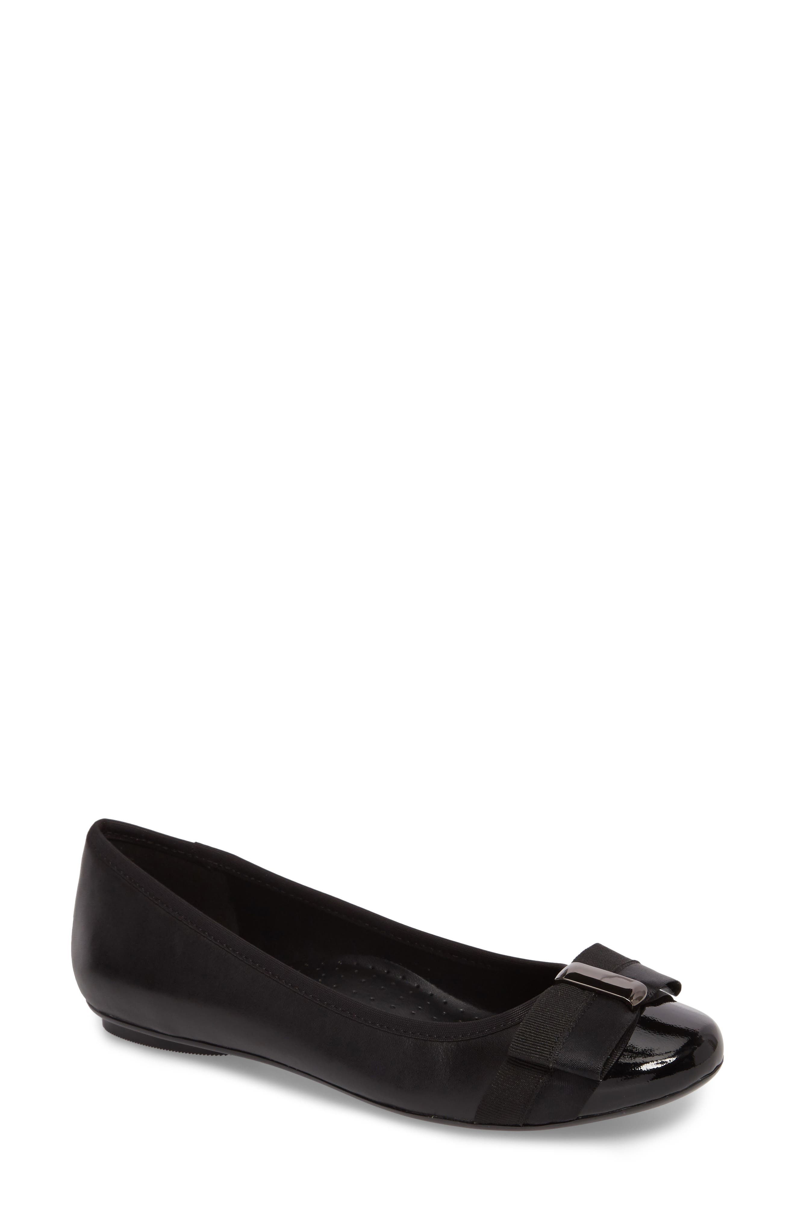 Salia Bow Flat,                         Main,                         color, 001