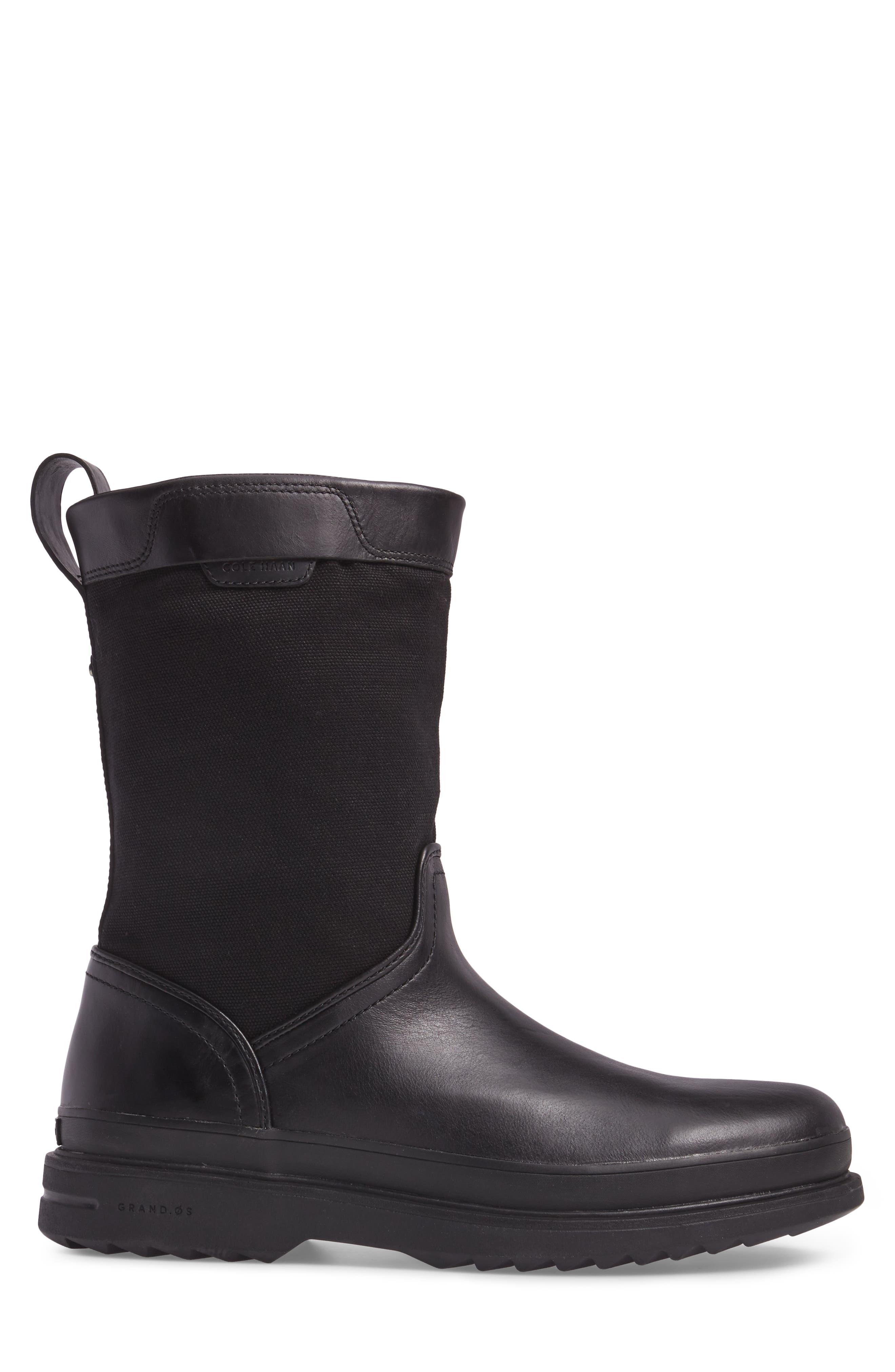 Millbridge Waterproof Boot,                             Alternate thumbnail 3, color,                             002