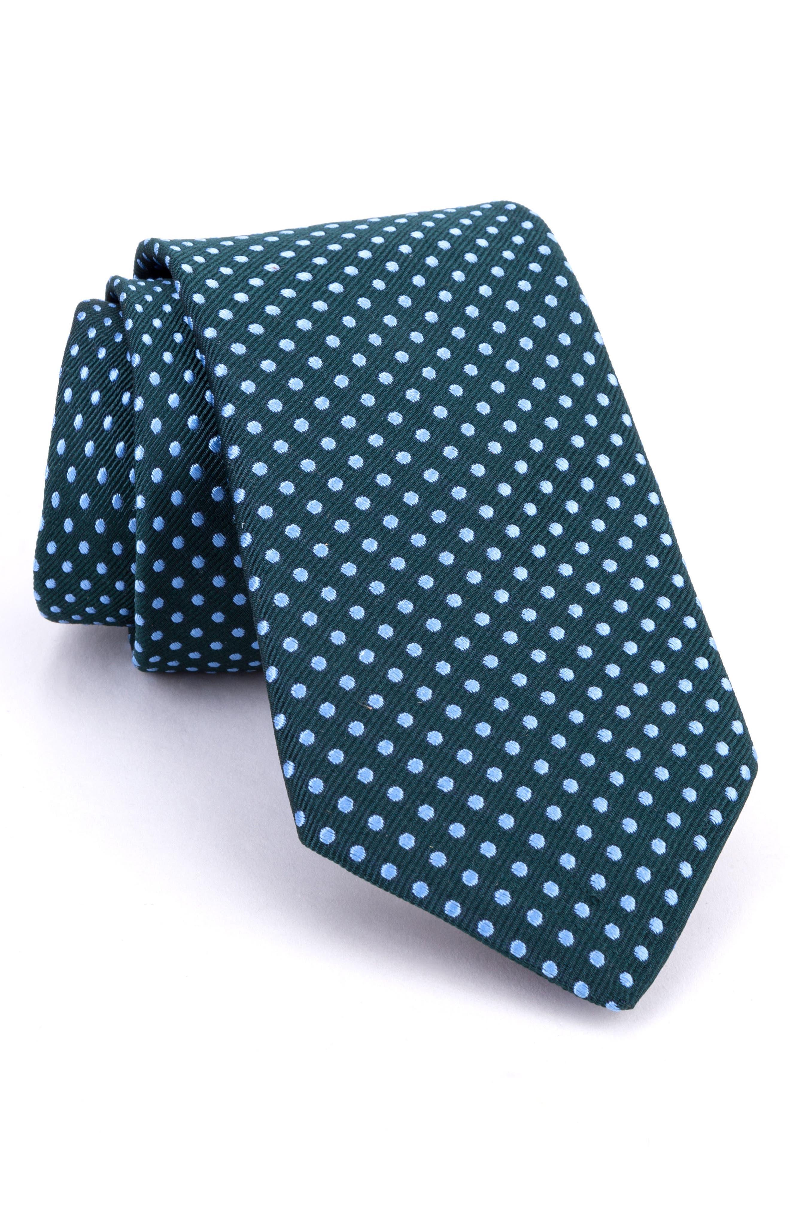 Woven Silk Tie,                         Main,                         color, 300