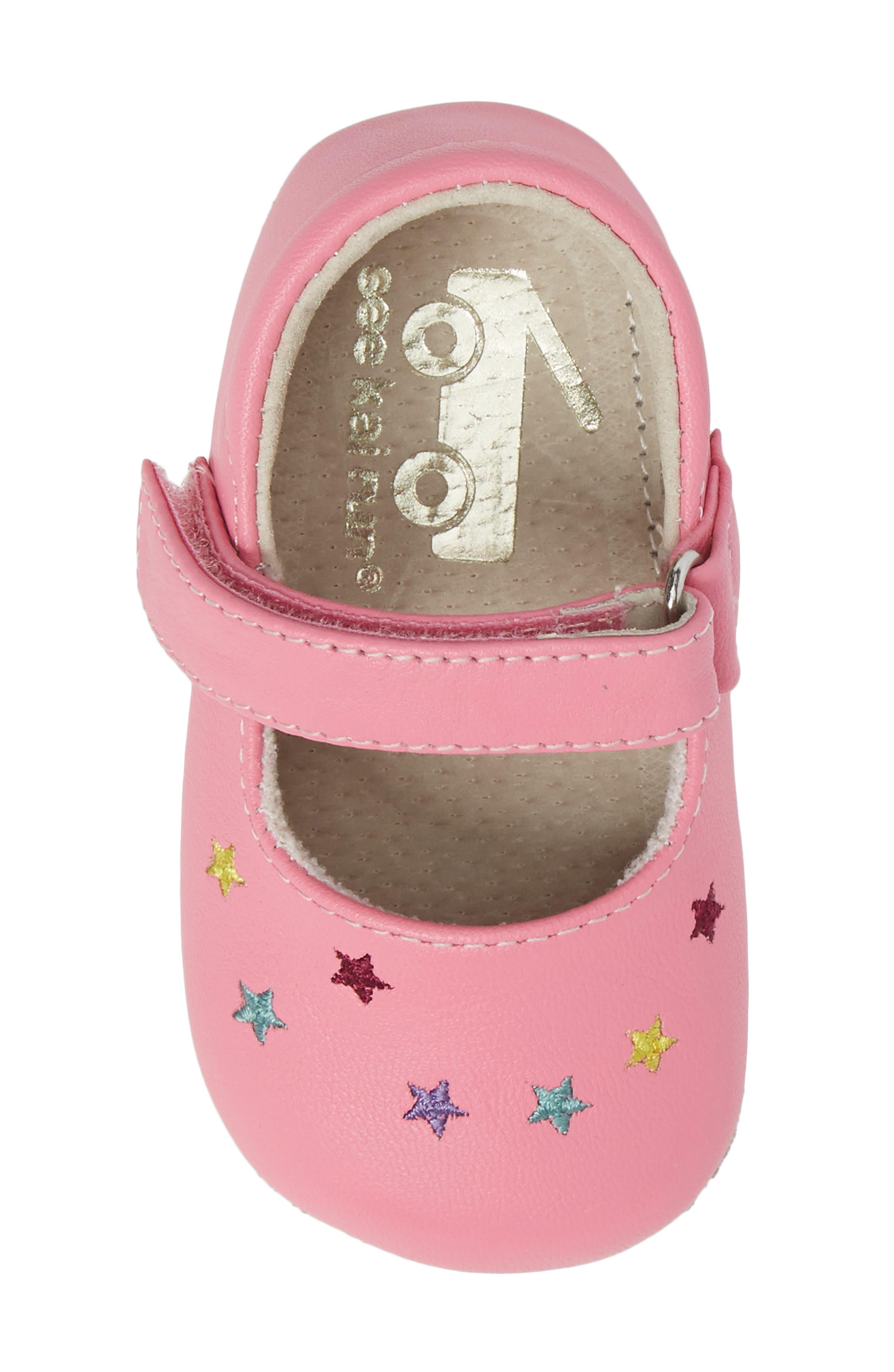 Harriet Mary Jane Crib Shoe,                             Alternate thumbnail 5, color,                             670