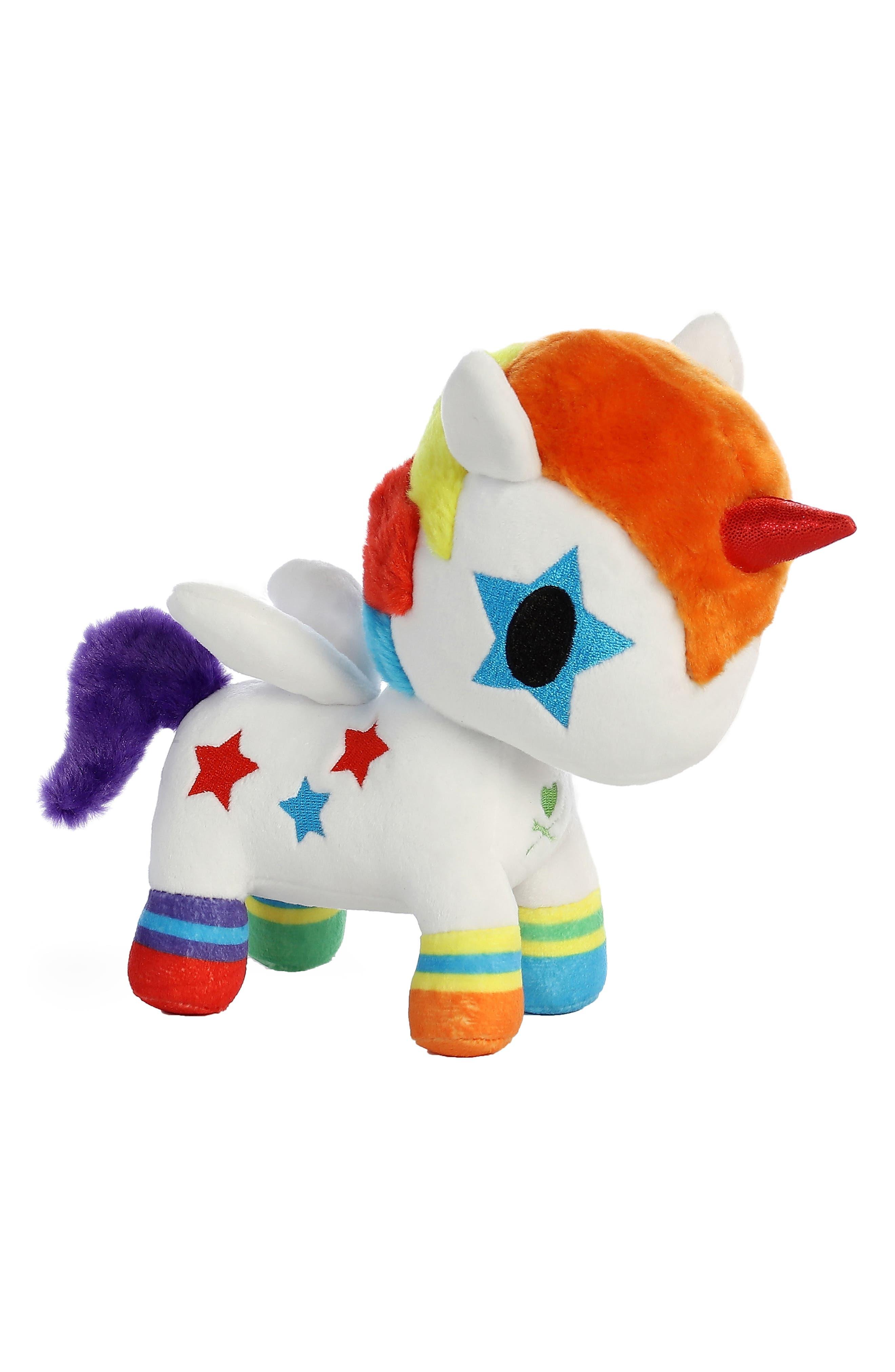 x tokidoki Bowie Unicorno Stuffed Animal,                             Alternate thumbnail 3, color,