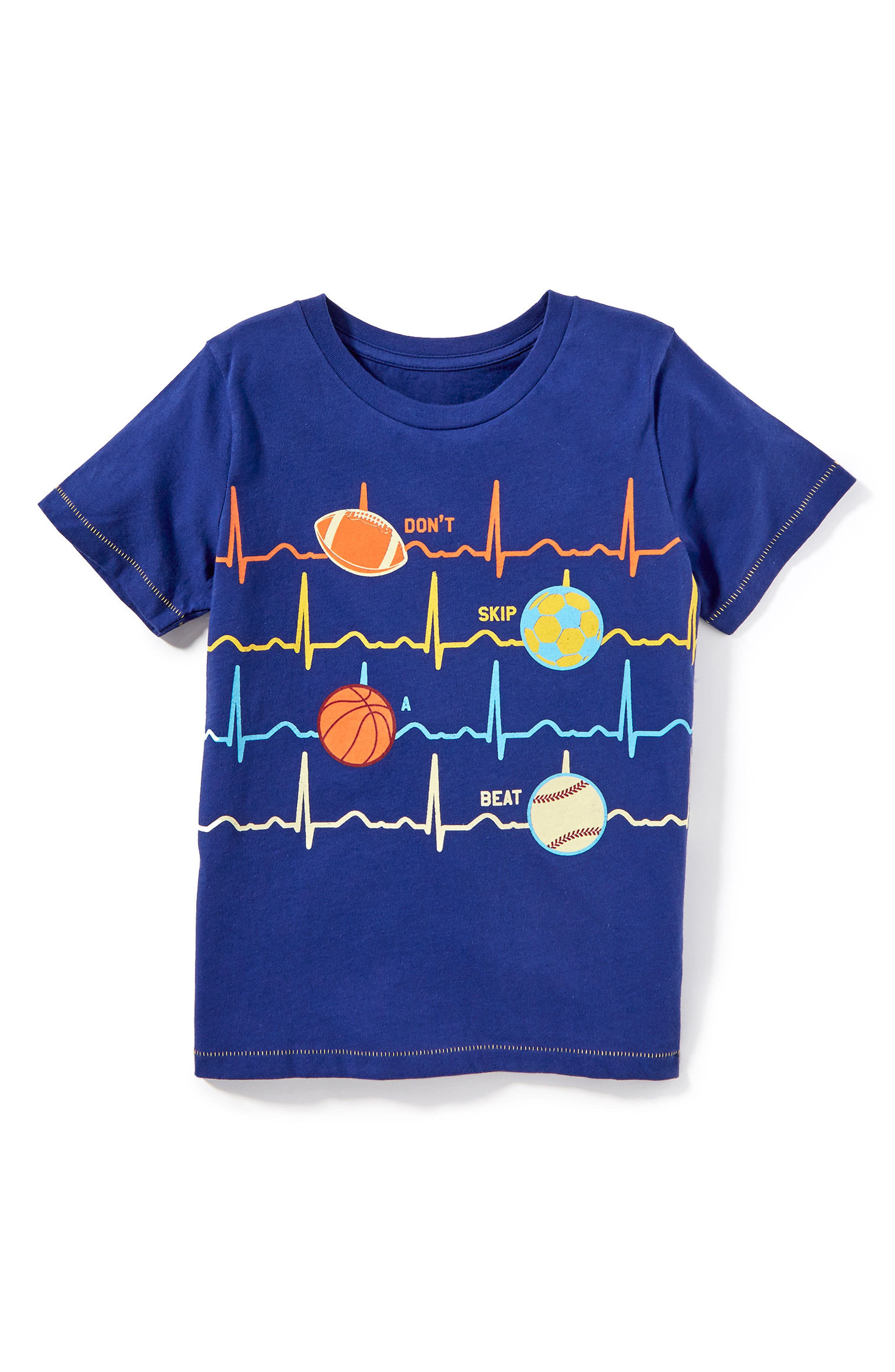 Heartbeat T-Shirt,                             Alternate thumbnail 3, color,                             410