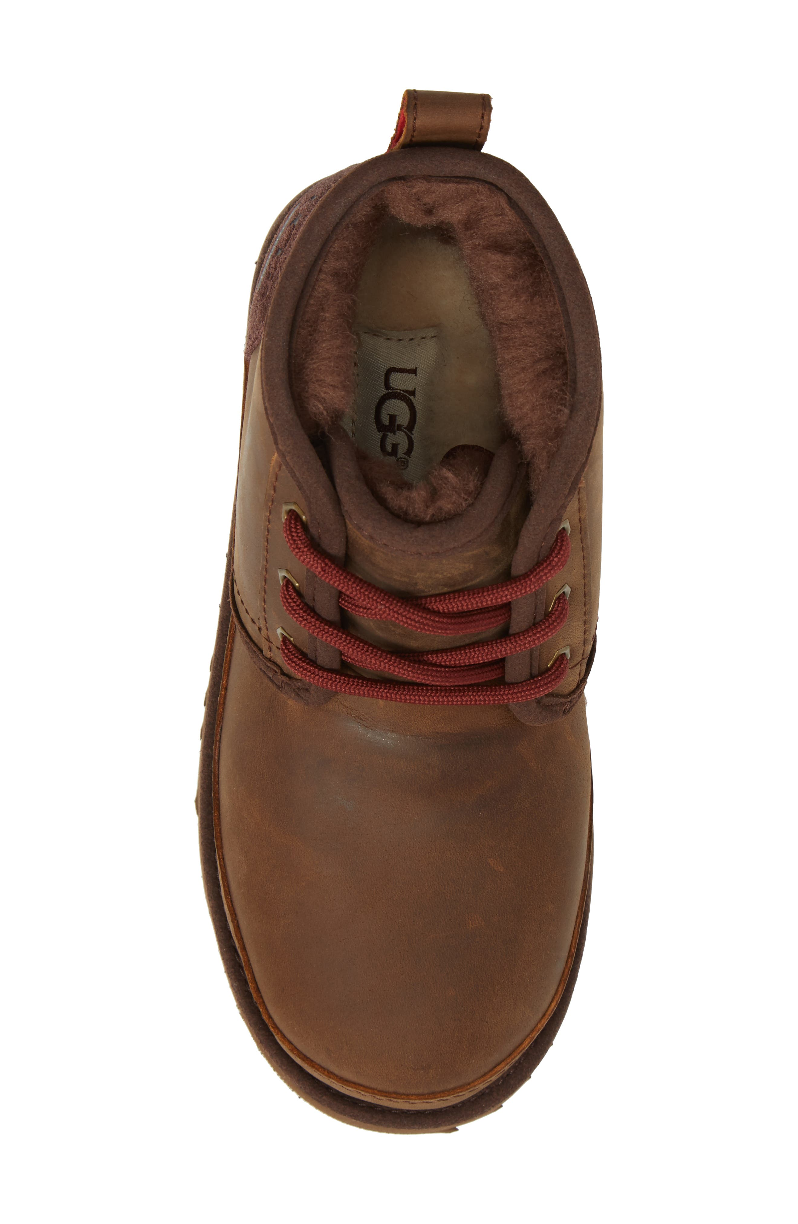 UGG<SUP>®</SUP>,                             Neumel II Waterproof Chukka,                             Alternate thumbnail 5, color,                             GRIZZLY