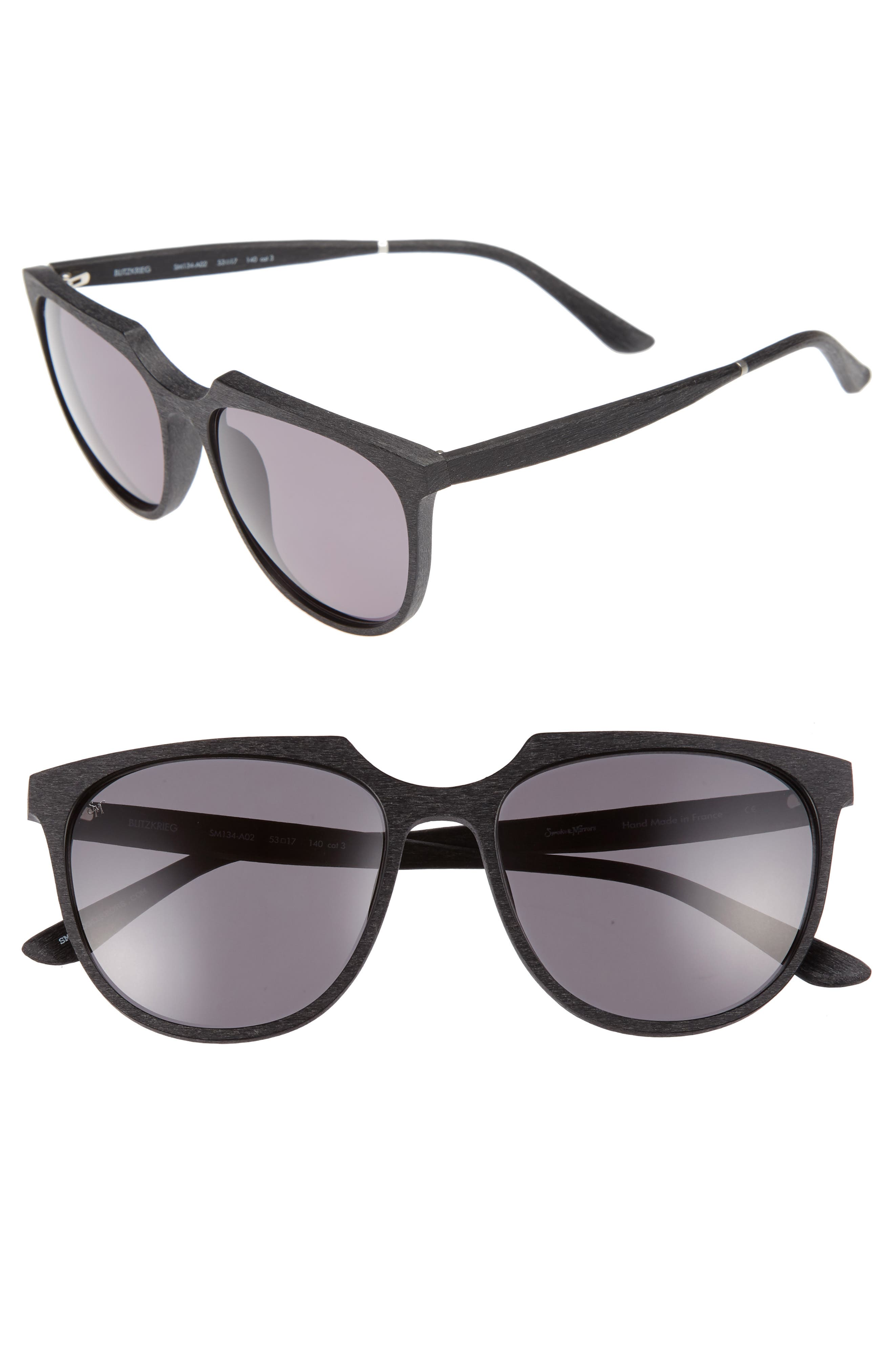 Blitzkrieg 53mm Sunglasses,                         Main,                         color, 001