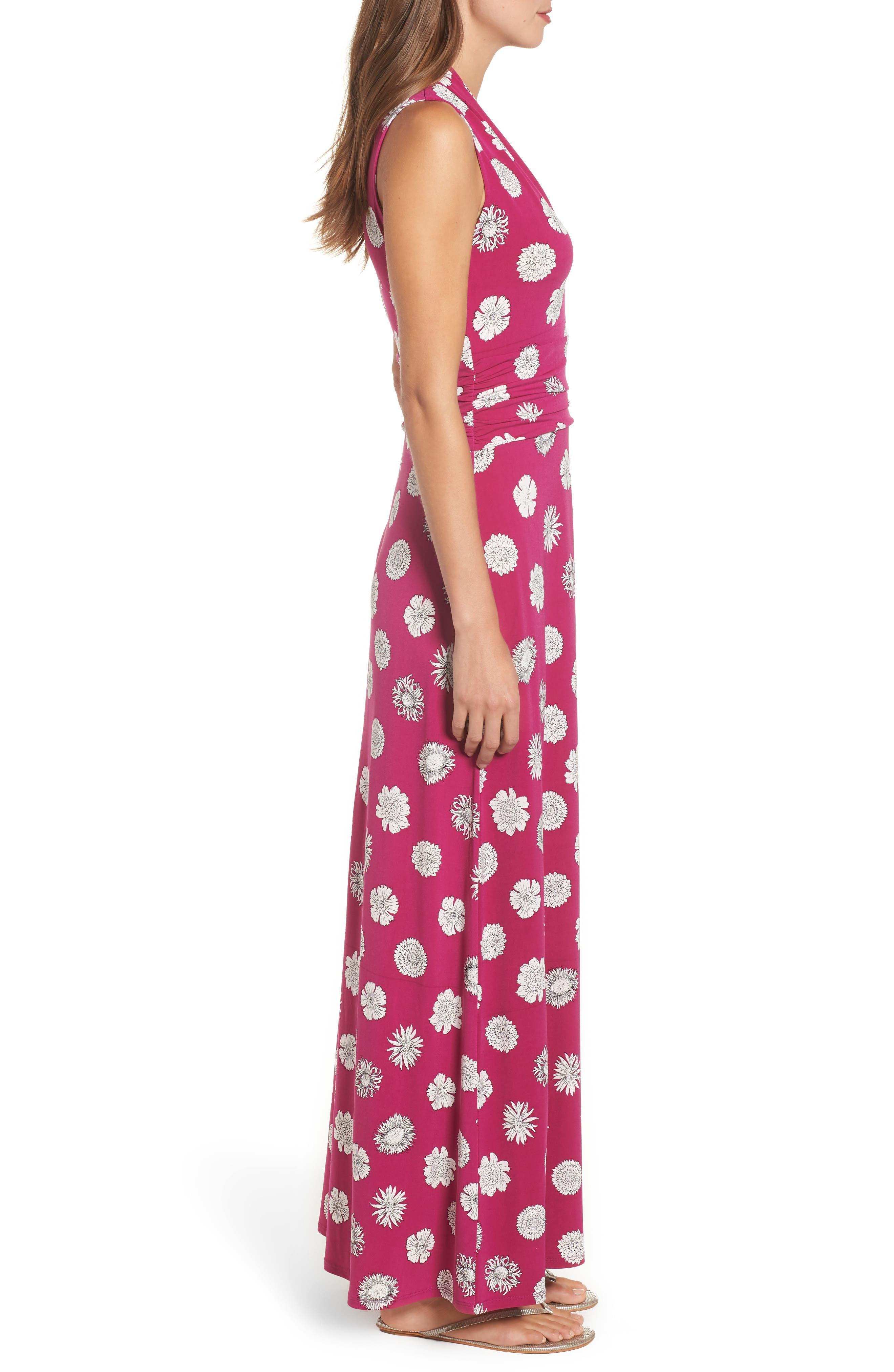 Botanical Tropics Halter Maxi Dress,                             Alternate thumbnail 7, color,