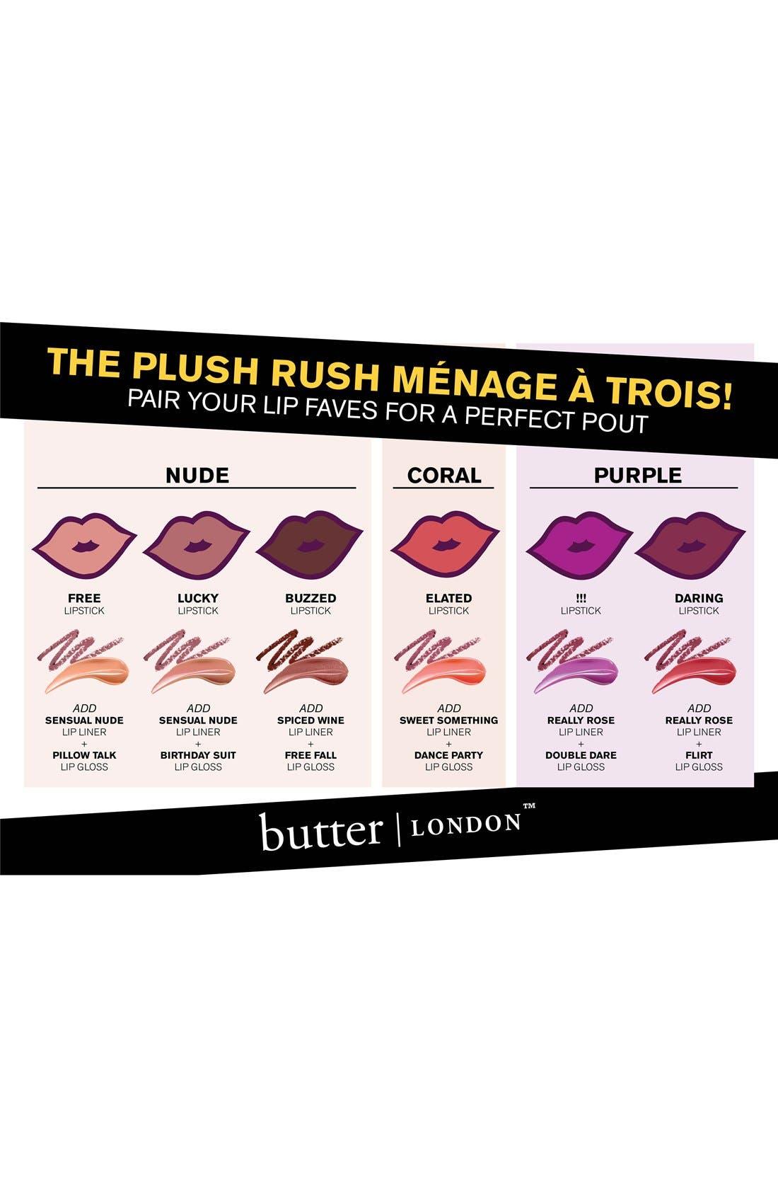 'Plush Rush' Lip Liner,                             Alternate thumbnail 3, color,                             RED HOT