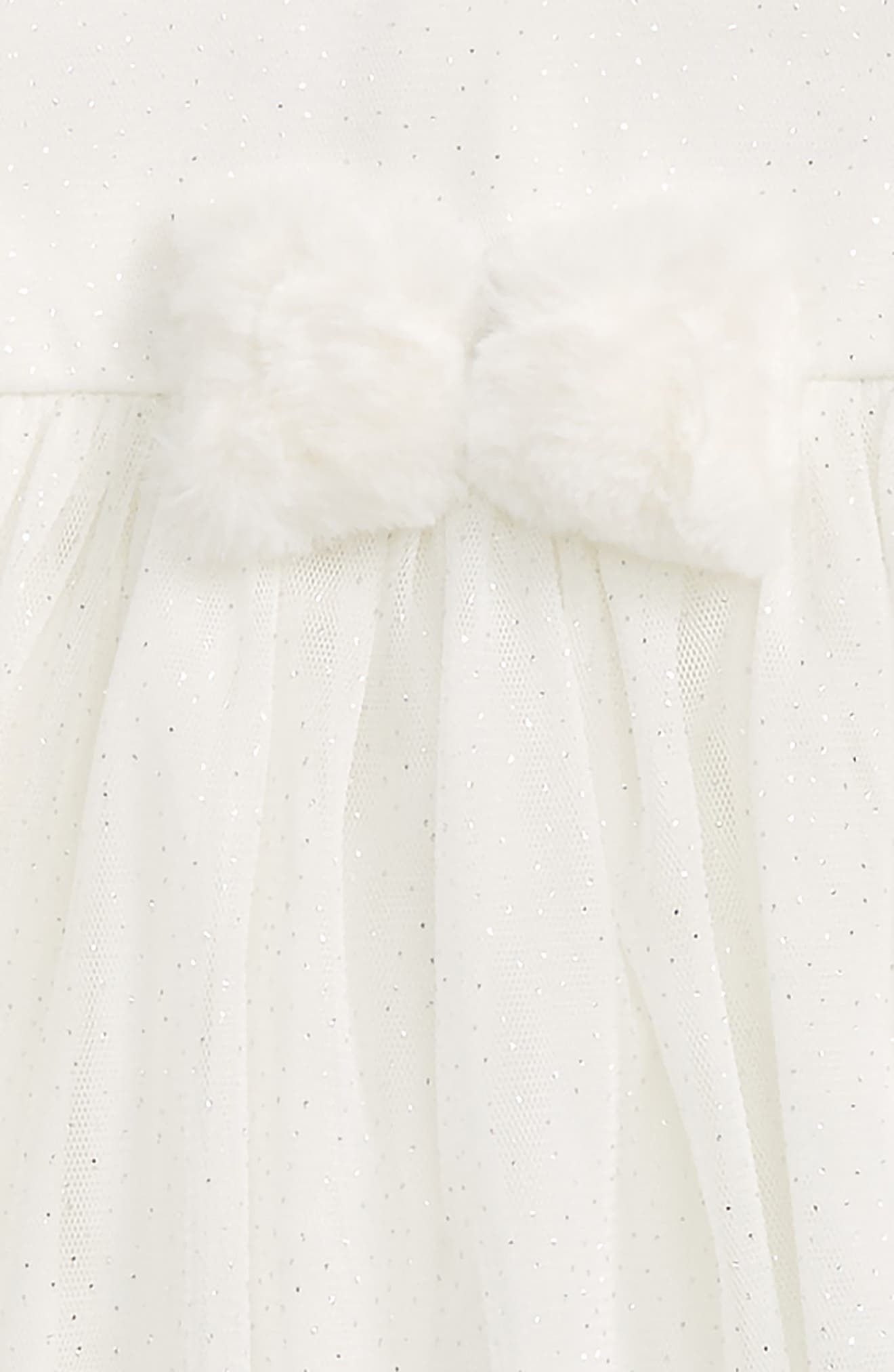 Sparkle Mesh Dress & Headband Set,                             Alternate thumbnail 2, color,
