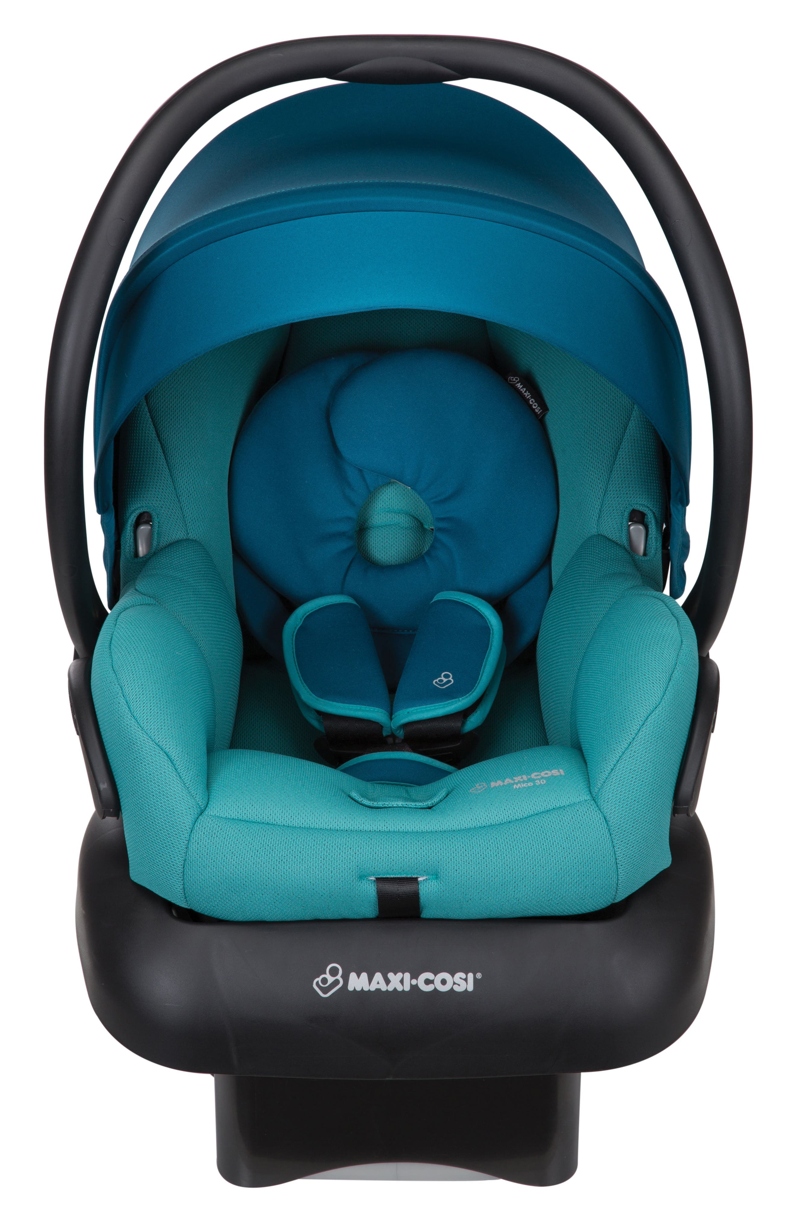 Mico 30 Infant Car Seat,                             Main thumbnail 1, color,                             EMERALD TIDE