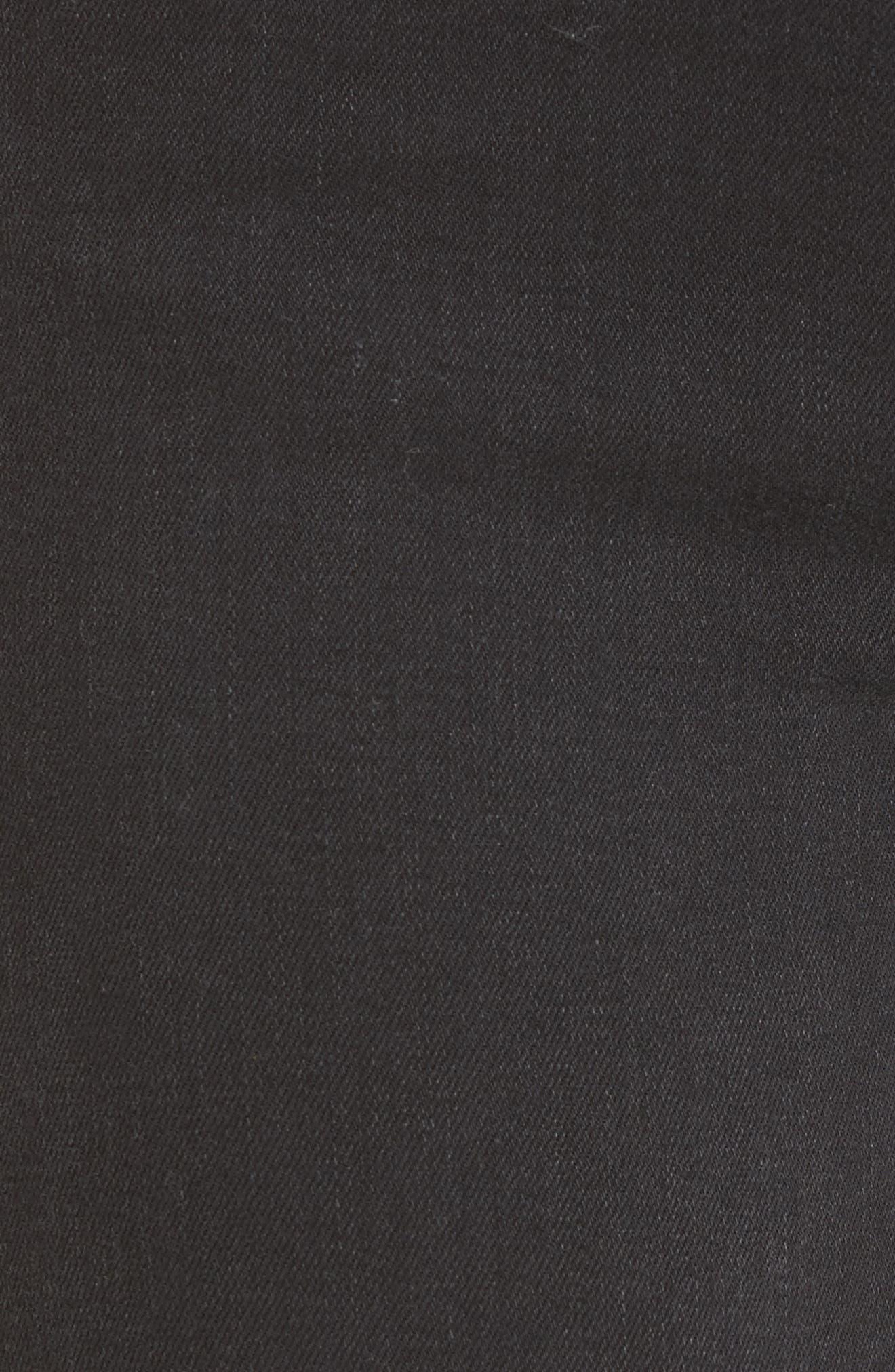 Transcend - Verdugo Ankle Skinny Jeans,                             Alternate thumbnail 6, color,                             001