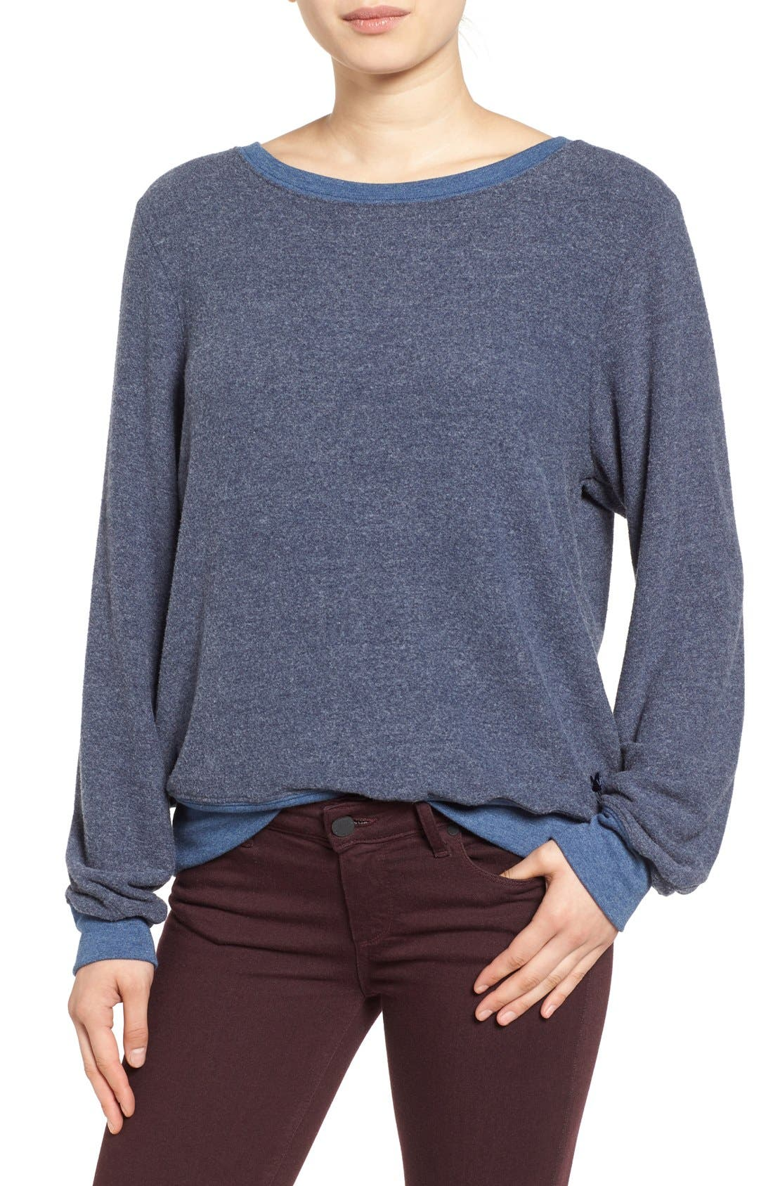 'Baggy Beach Jumper' Pullover,                             Main thumbnail 31, color,
