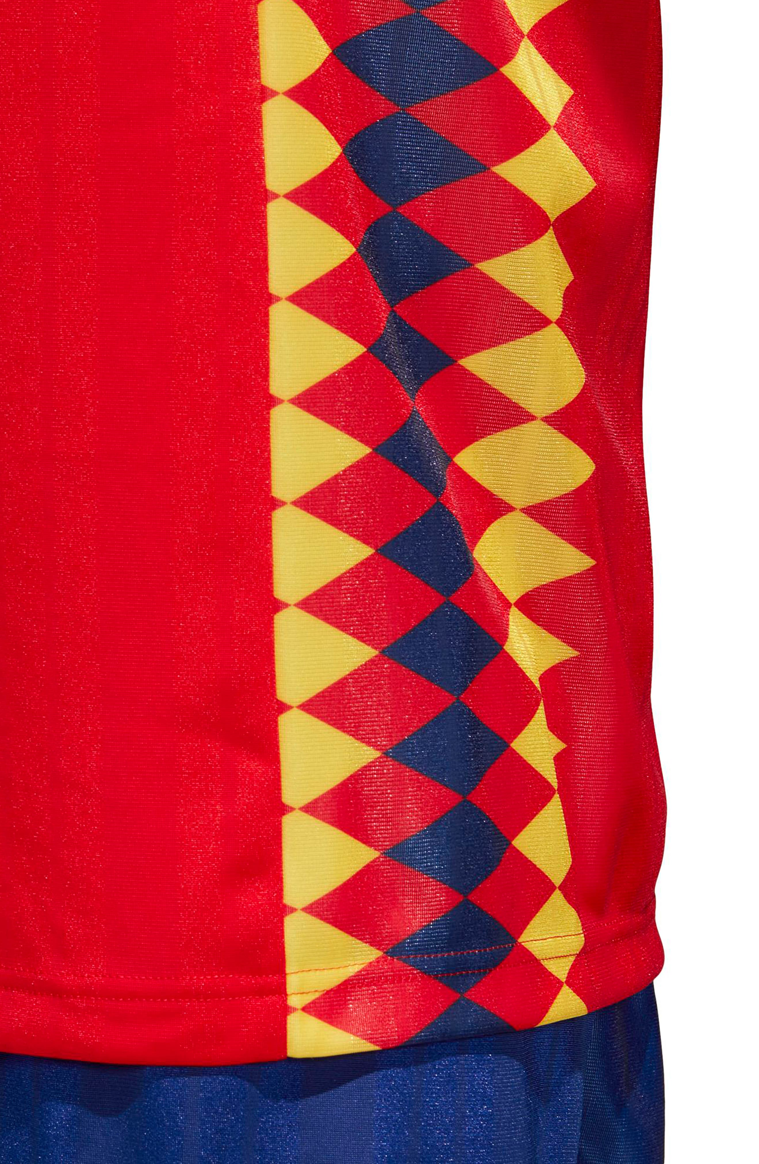 adidas Original Spain 1994 Soccer Jersey,                             Alternate thumbnail 6, color,                             625