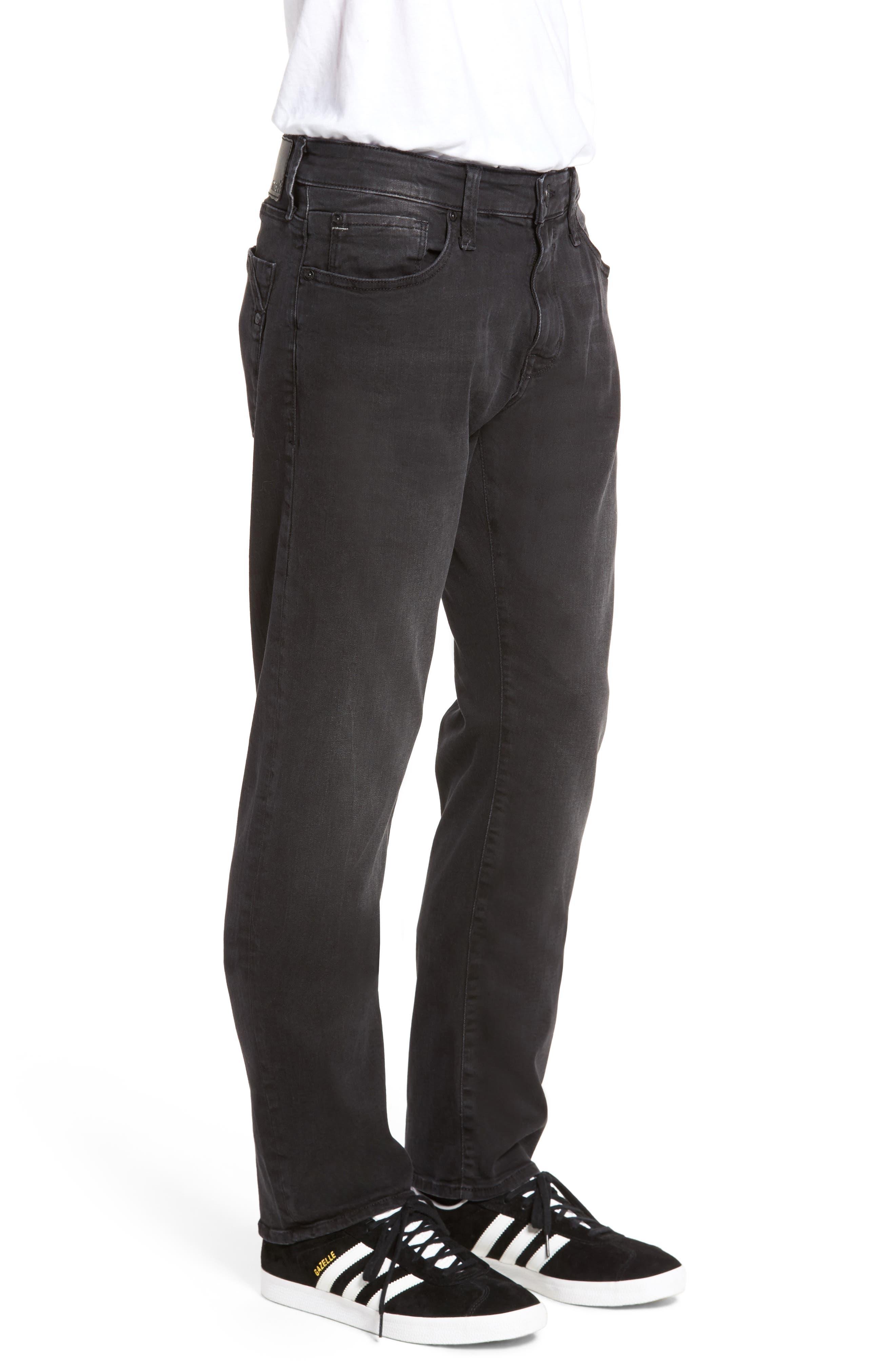 Zach Straight Fit Jeans,                             Alternate thumbnail 3, color,                             050