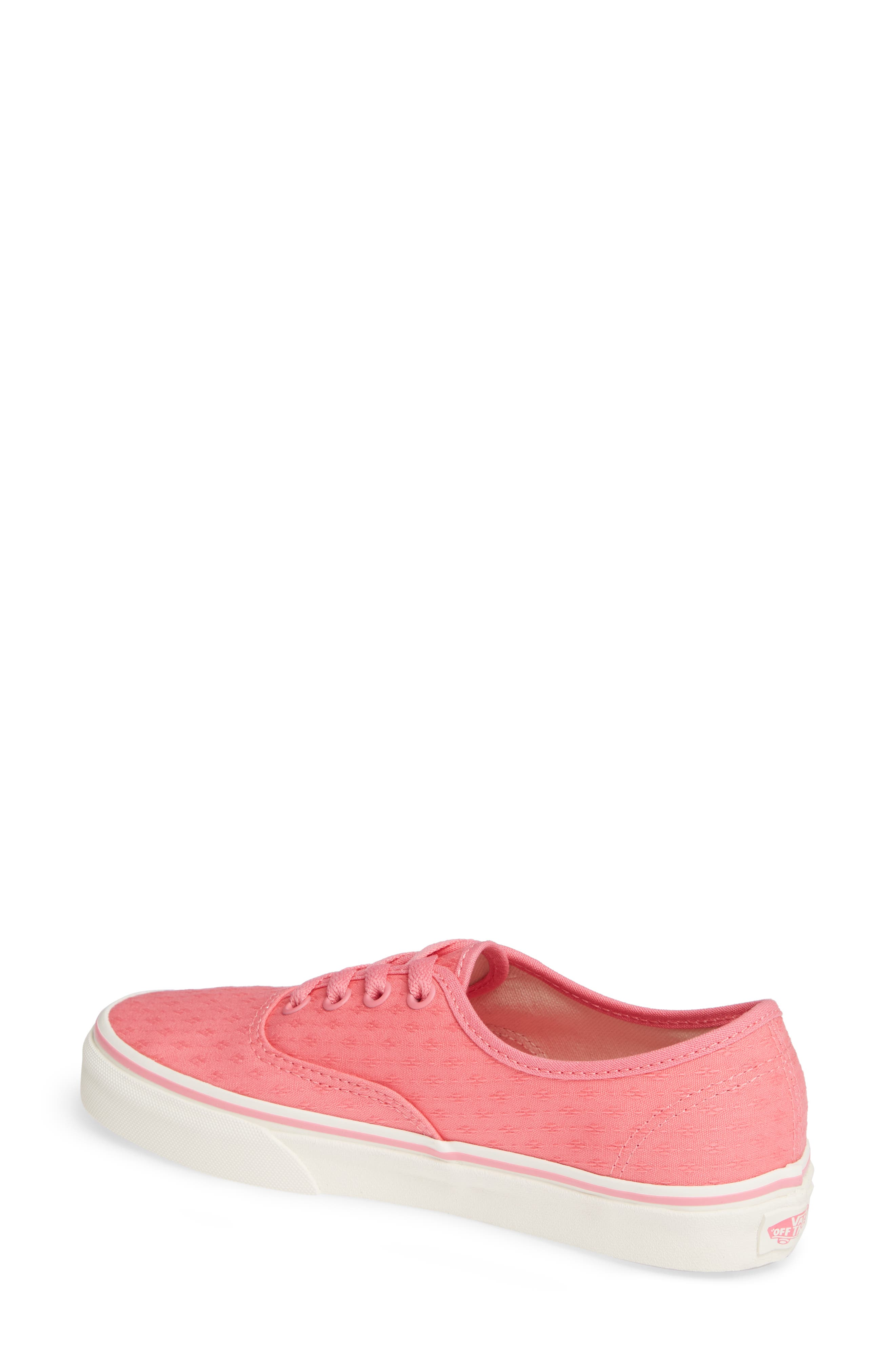 'Authentic' Sneaker,                             Alternate thumbnail 2, color,                             PINK LEMONADE/ MARSHMALLOW