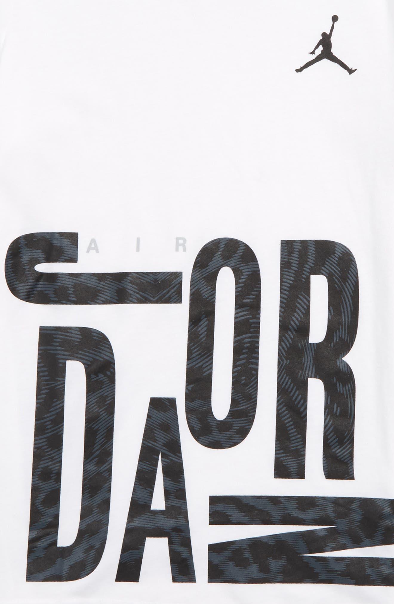 JORDAN,                             Oversize All Shoe Graphic T-Shirt,                             Alternate thumbnail 2, color,                             100